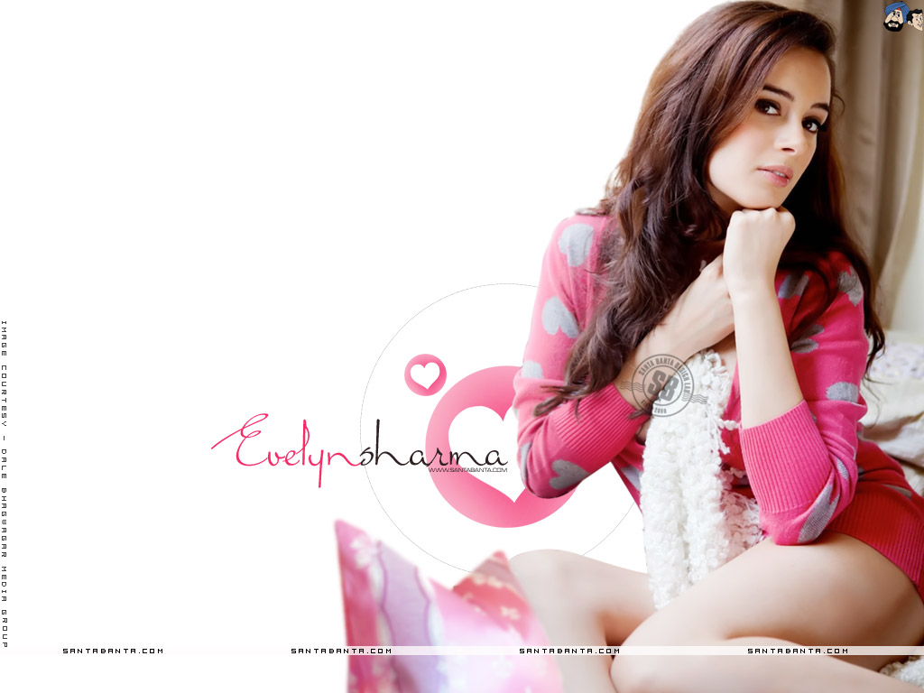 1024x768 - Evelyn Sharma Wallpapers 1