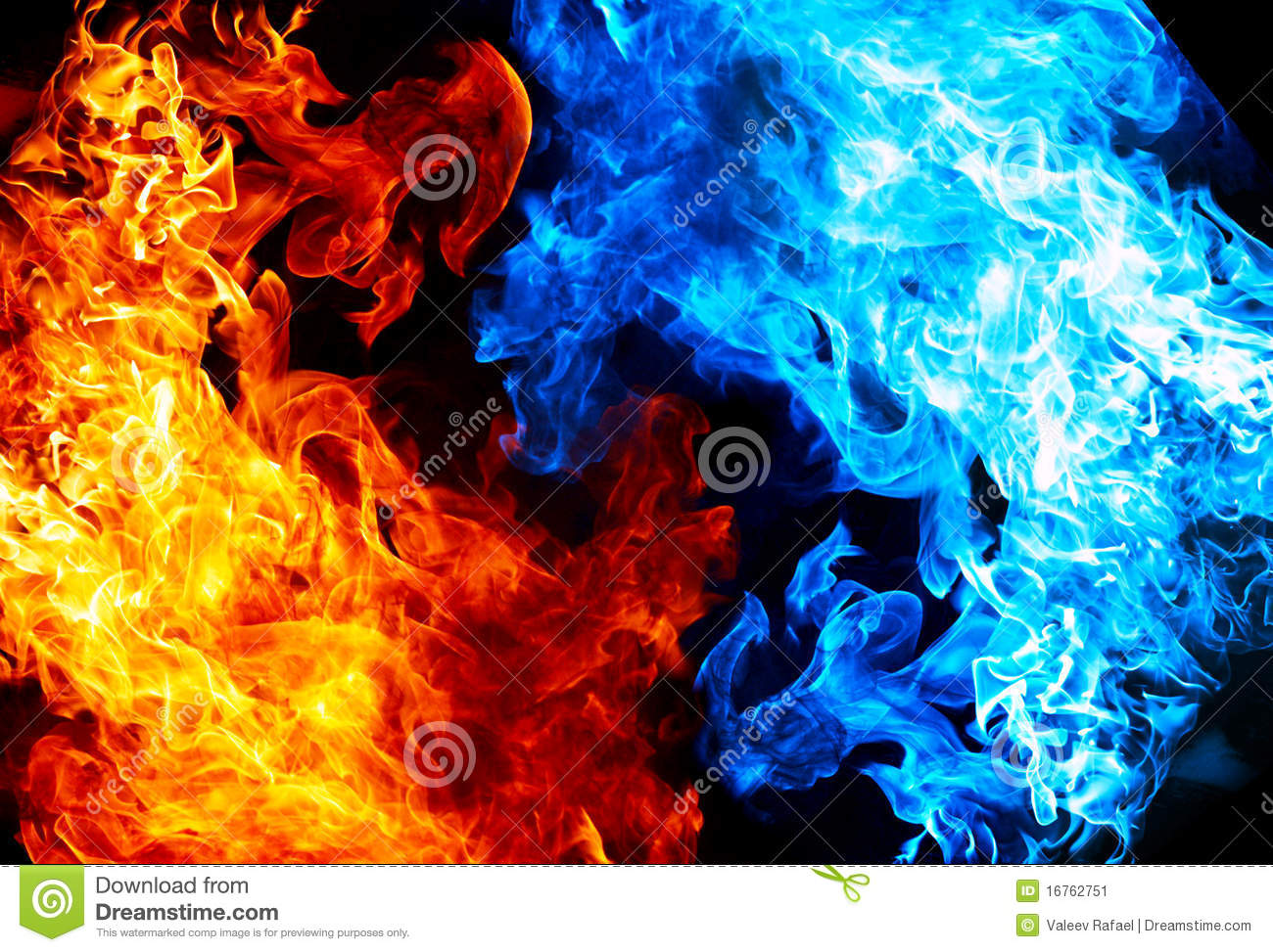 1300x973 - Red and Blue Fire 5