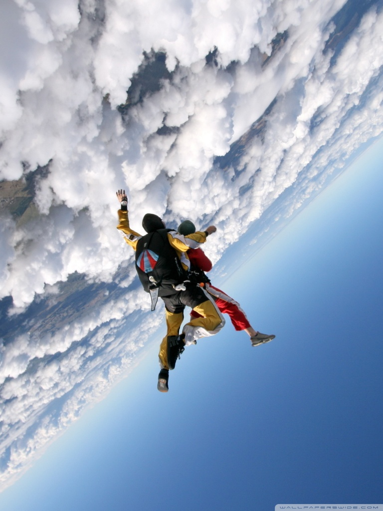 768x1024 - Skydiving Wallpapers 16
