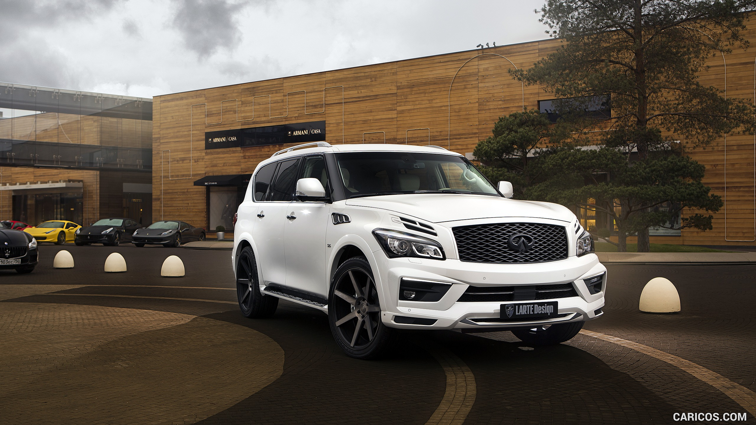 2560x1440 - Infiniti QX80 Wallpapers 21
