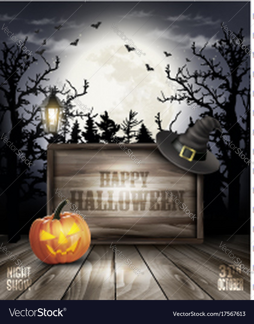 846x1080 - Scary Halloween Background 28