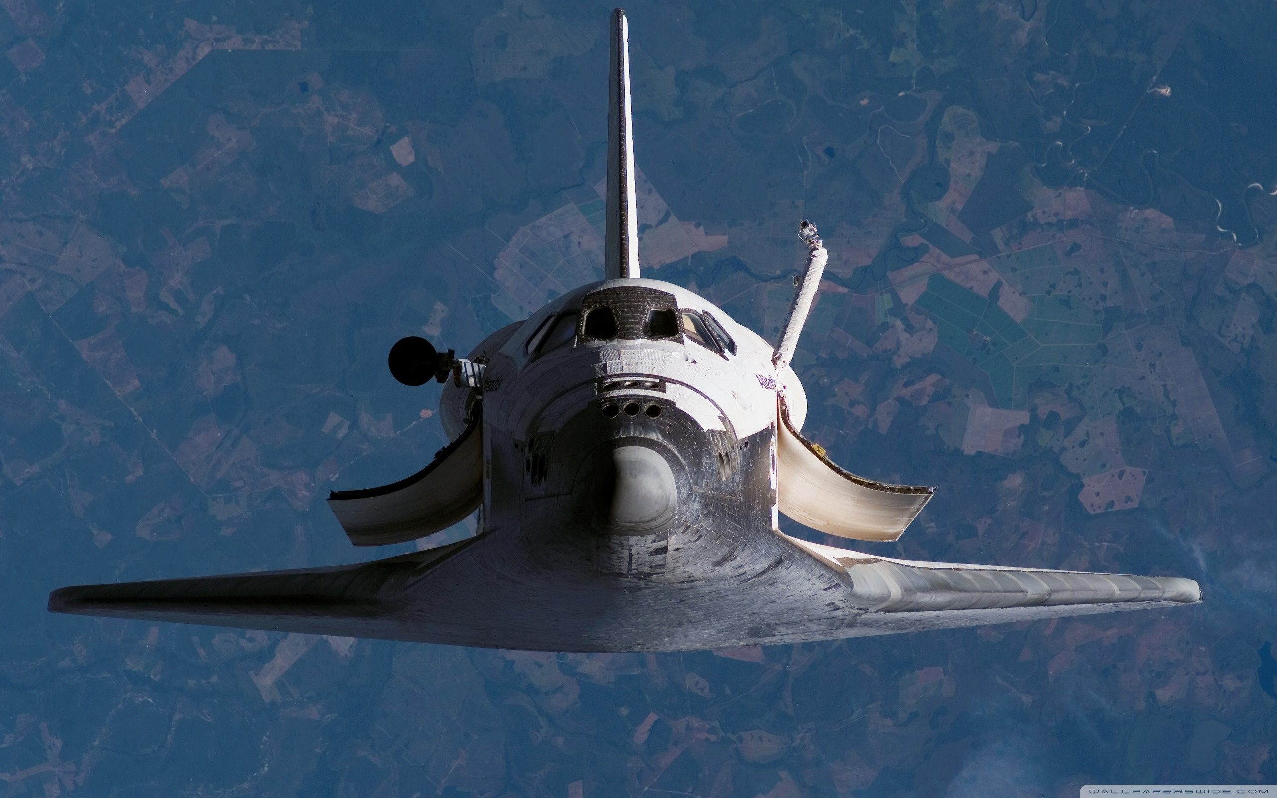 2560x1600 - Space Shuttle atlantis Wallpapers 6