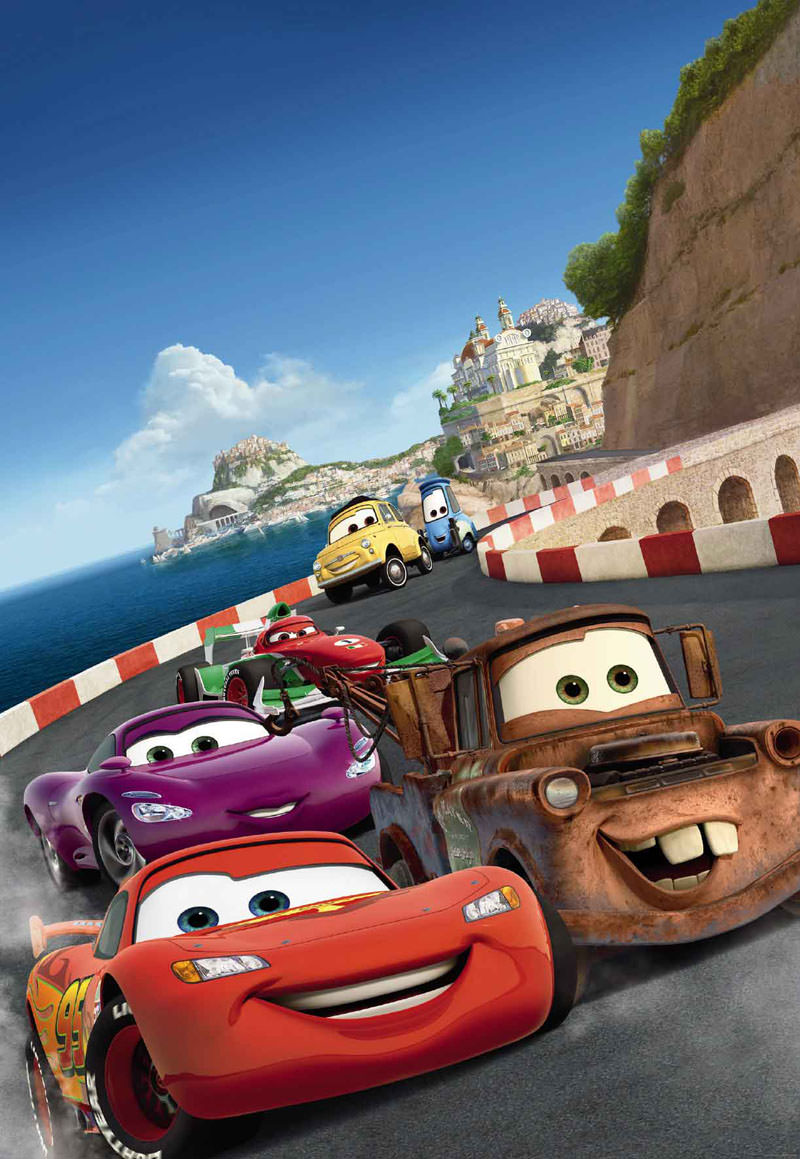 800x1159 - Wallpaper Cars Cartoon 11