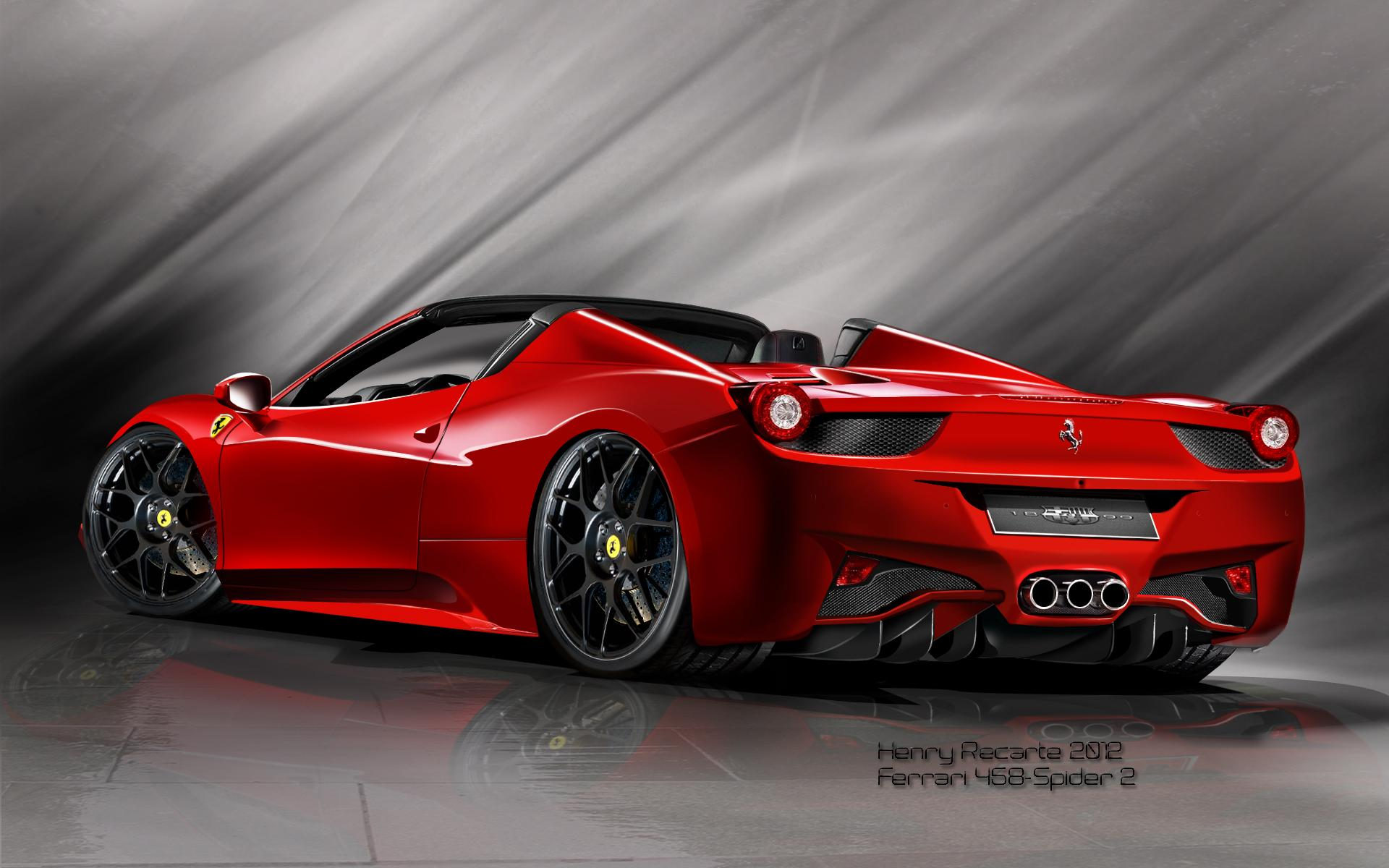 1920x1200 - Ferrari 458 Italia Wallpapers 27