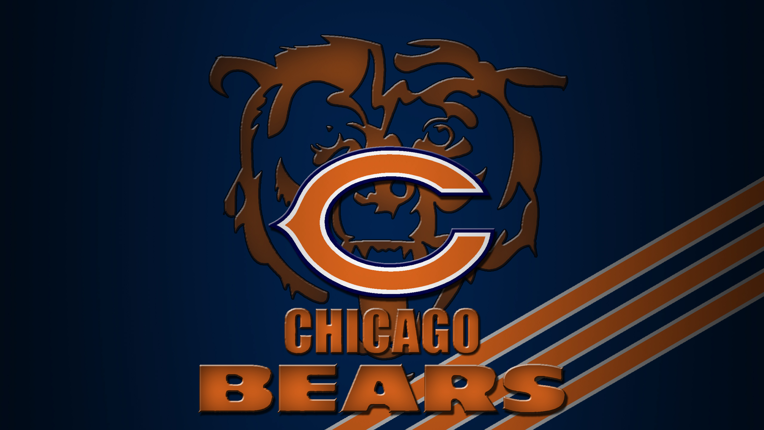 2560x1440 - Chicago Bears Wallpapers 11