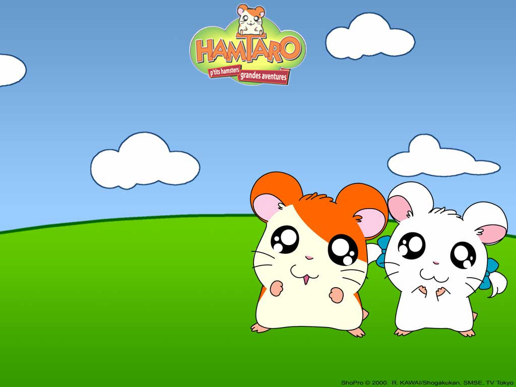 1024x768 - Hamtaro Background 3