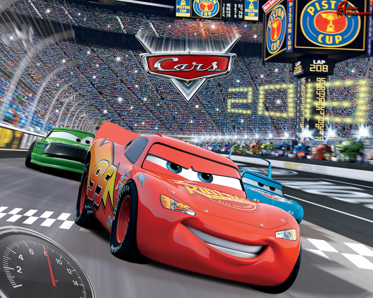 1280x1024 - Wallpaper Cars Cartoon 24