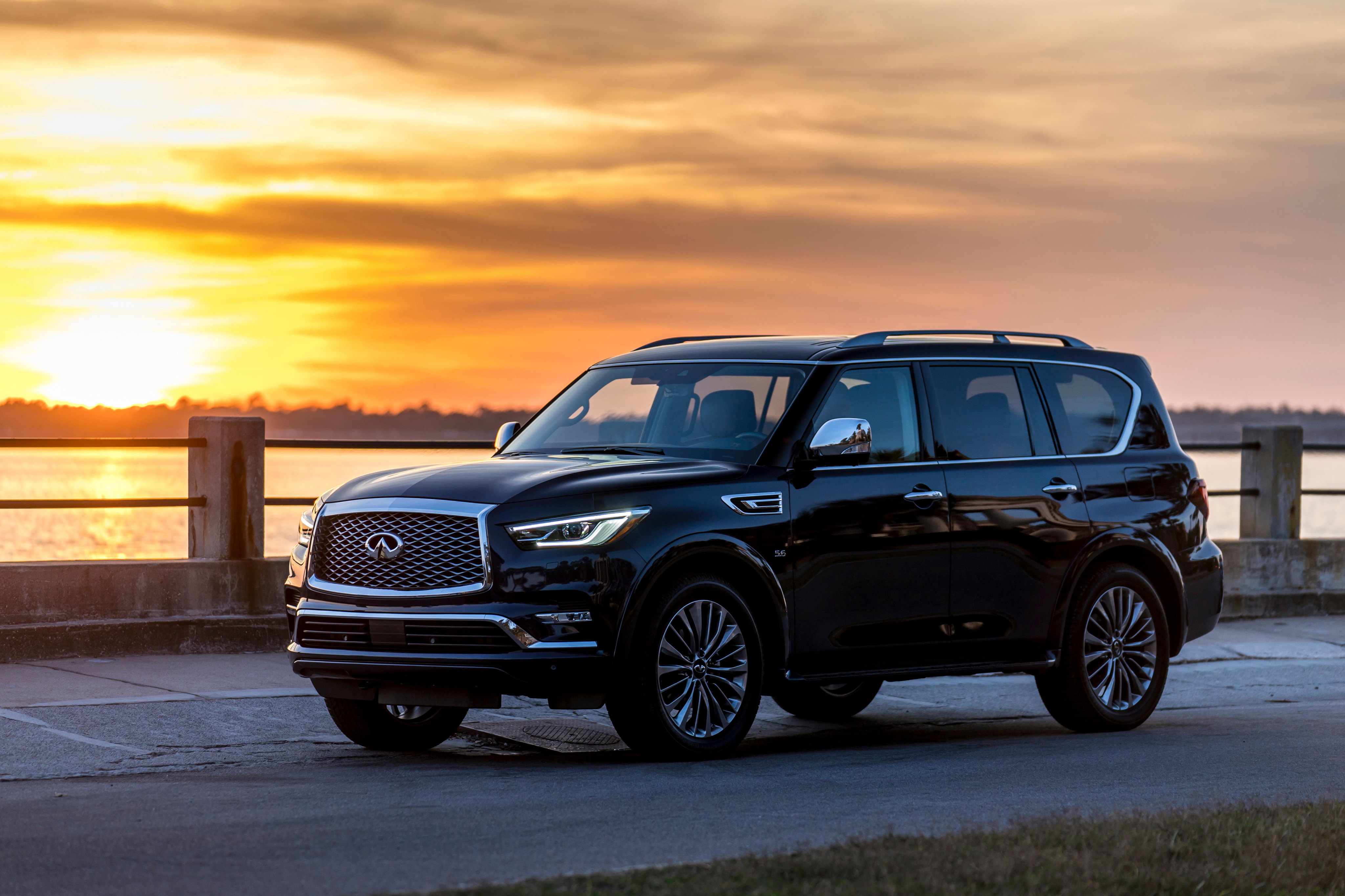 4096x2730 - Infiniti QX80 Wallpapers 3