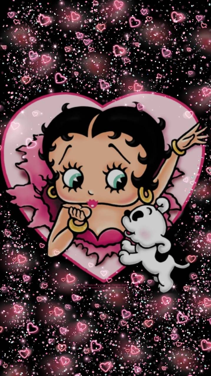 717x1280 - Betty Boop Wallpaper for Phone 11