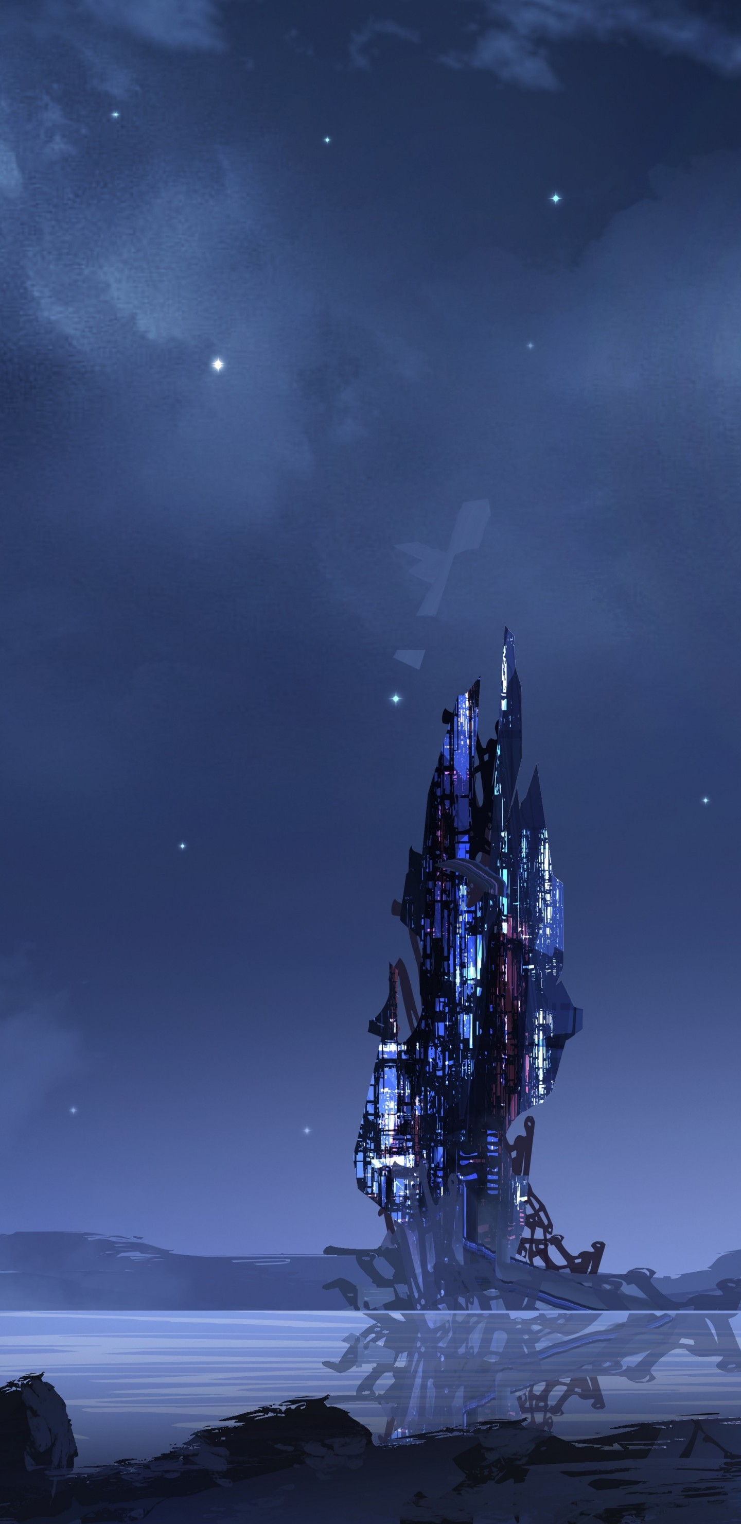 1440x2960 - Sci Fi Building Wallpapers 36