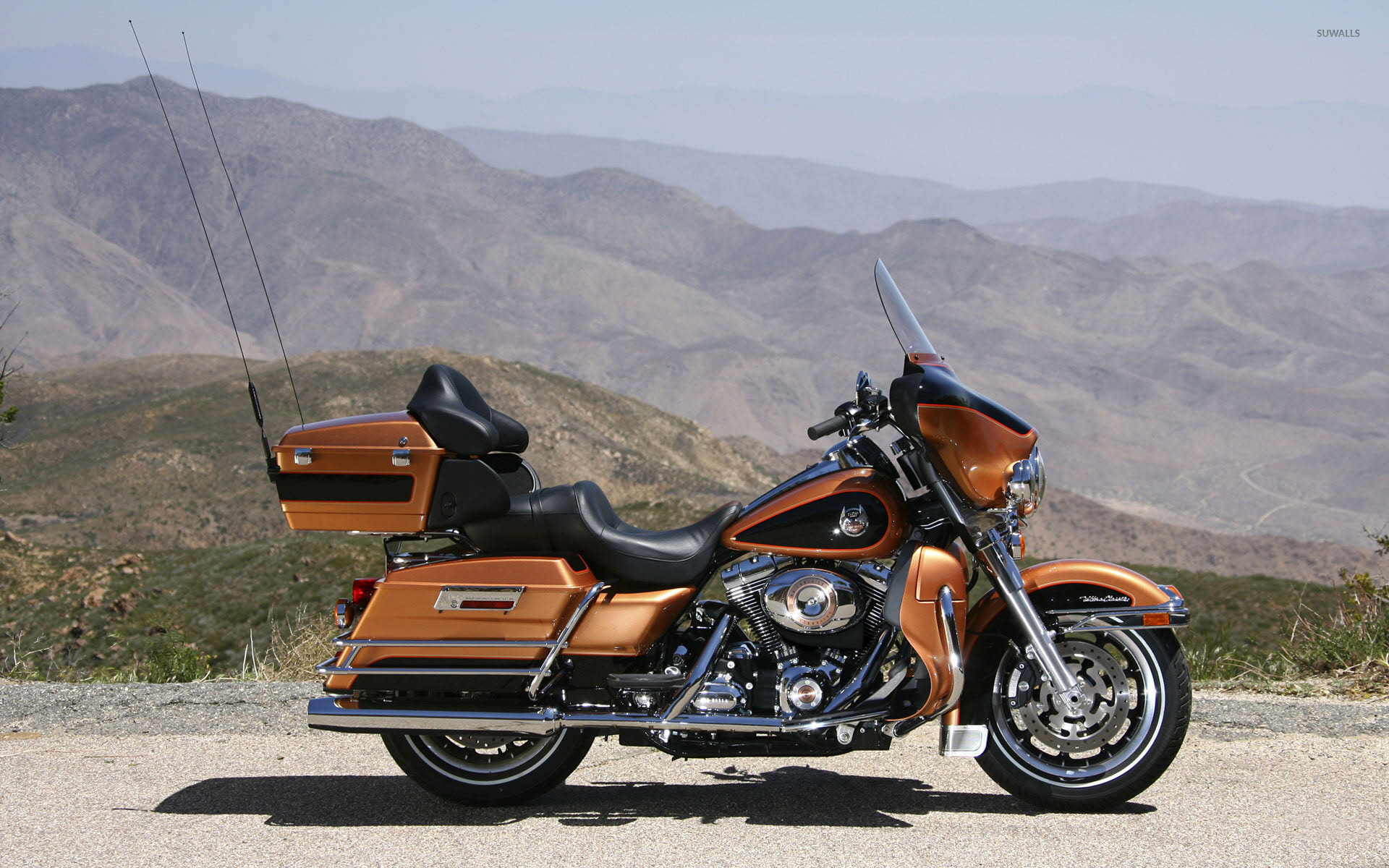 1920x1200 - Harley-Davidson Electra Glide Ultra Classic Wallpapers 17