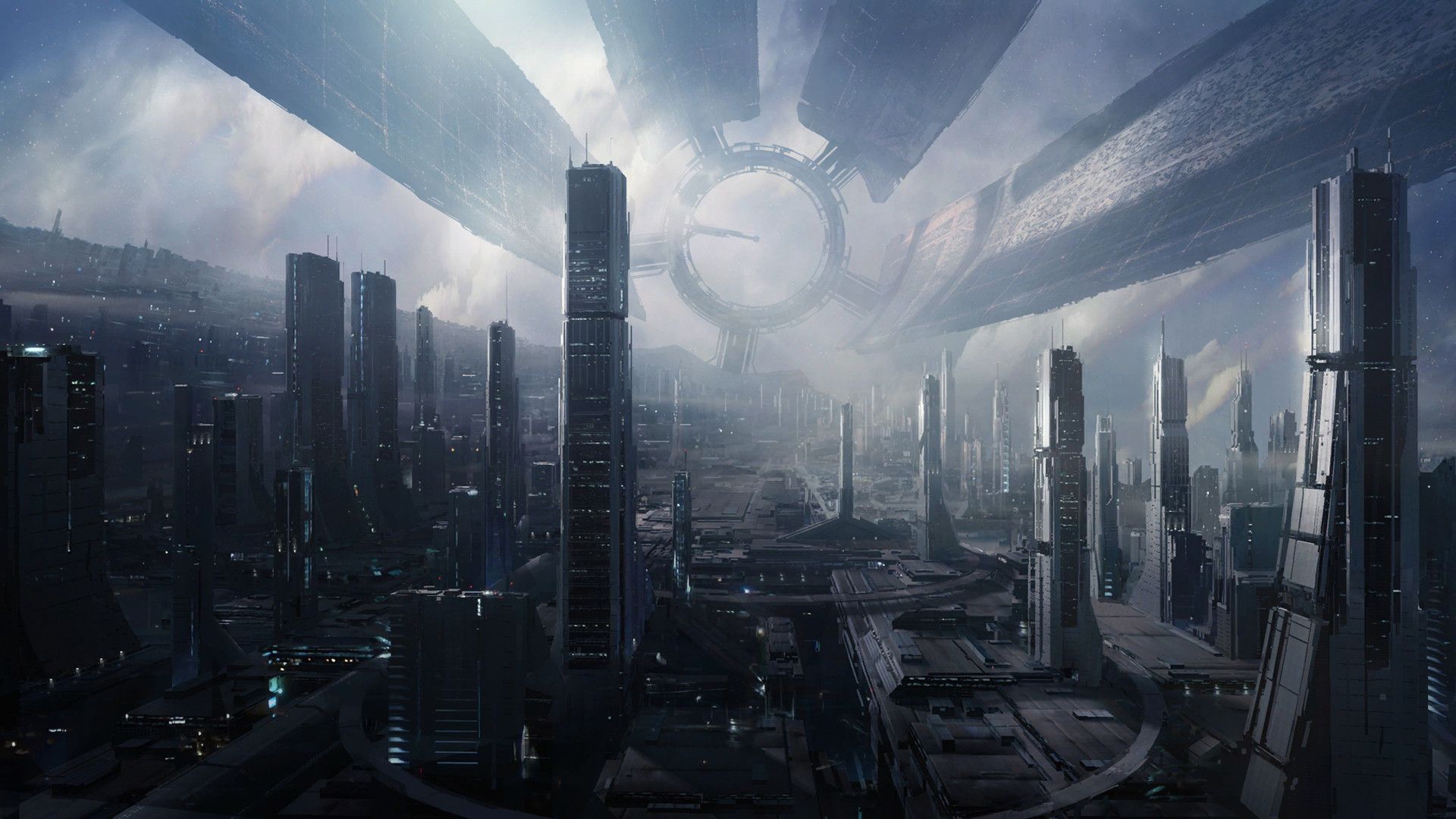 1920x1080 - Sci Fi Building Wallpapers 11