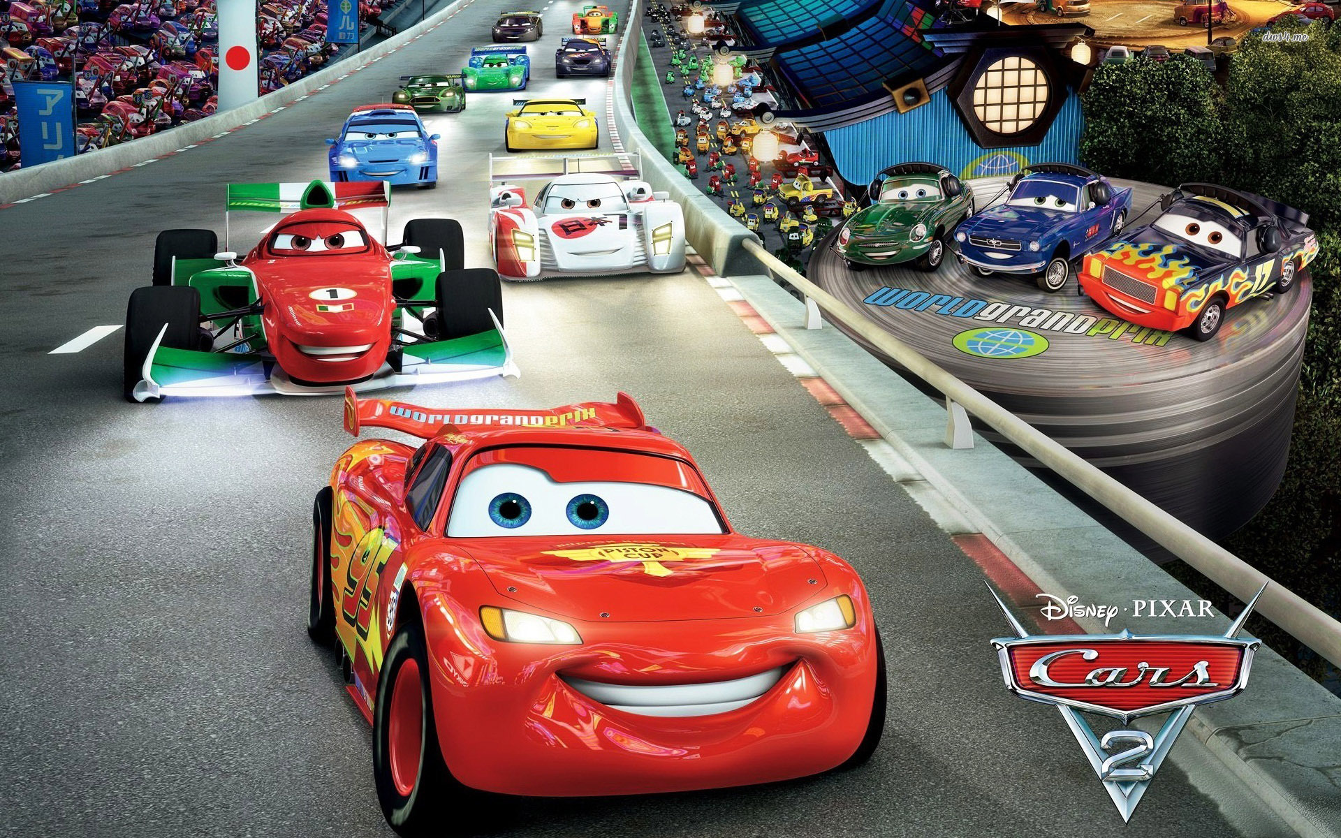 1920x1200 - Wallpaper Cars Cartoon 19