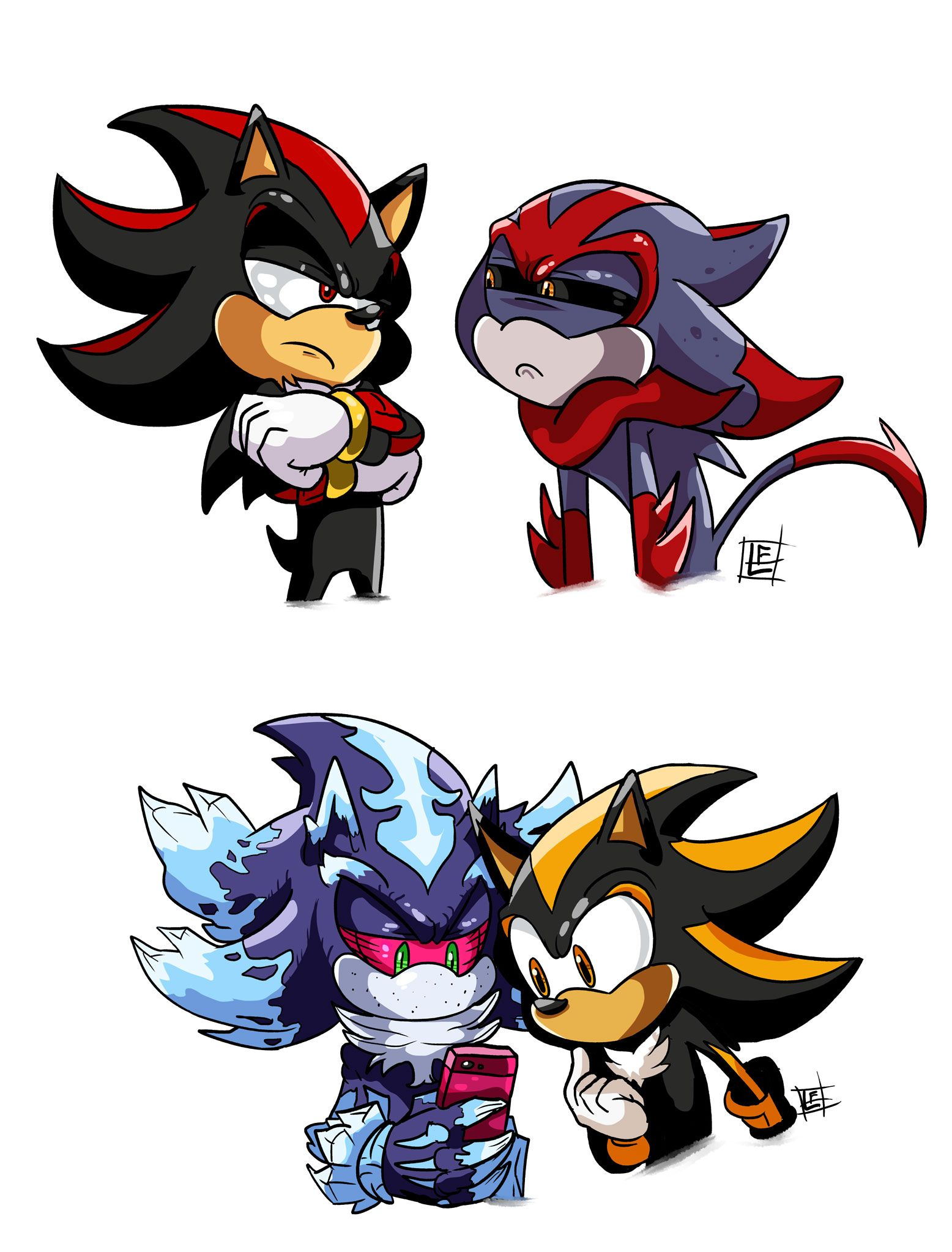 1556x2046 - Sonic and Shadow 19