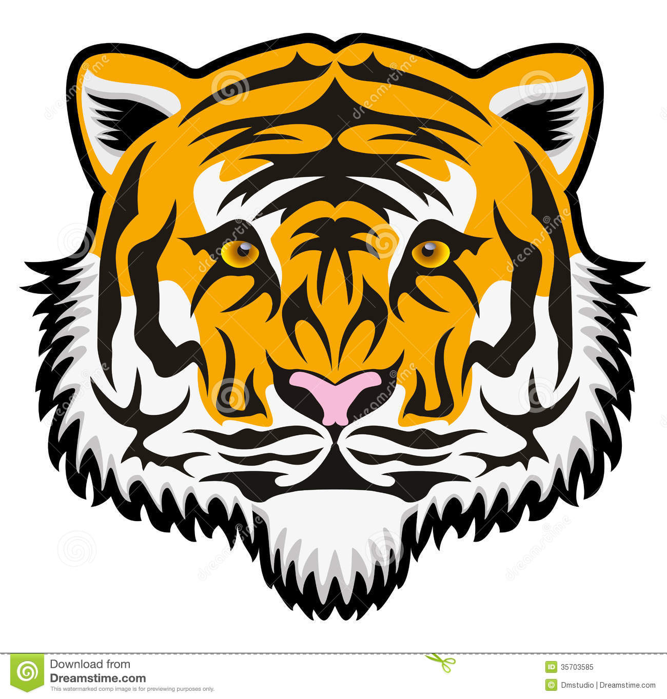 1300x1363 - Animated Tiger 35