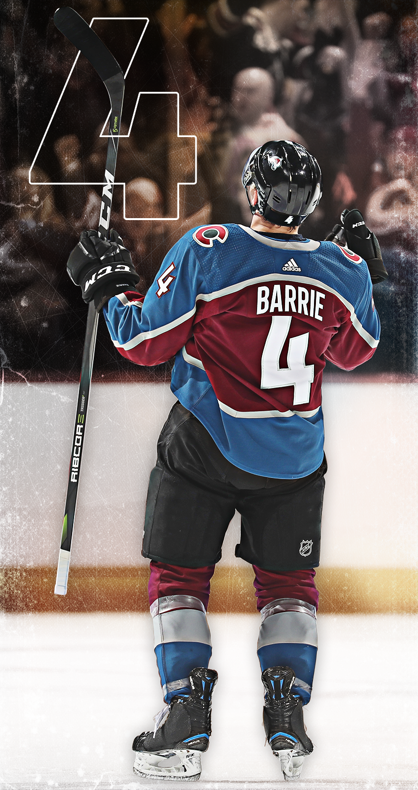 852x1608 - Colorado Avalanche Wallpapers 7