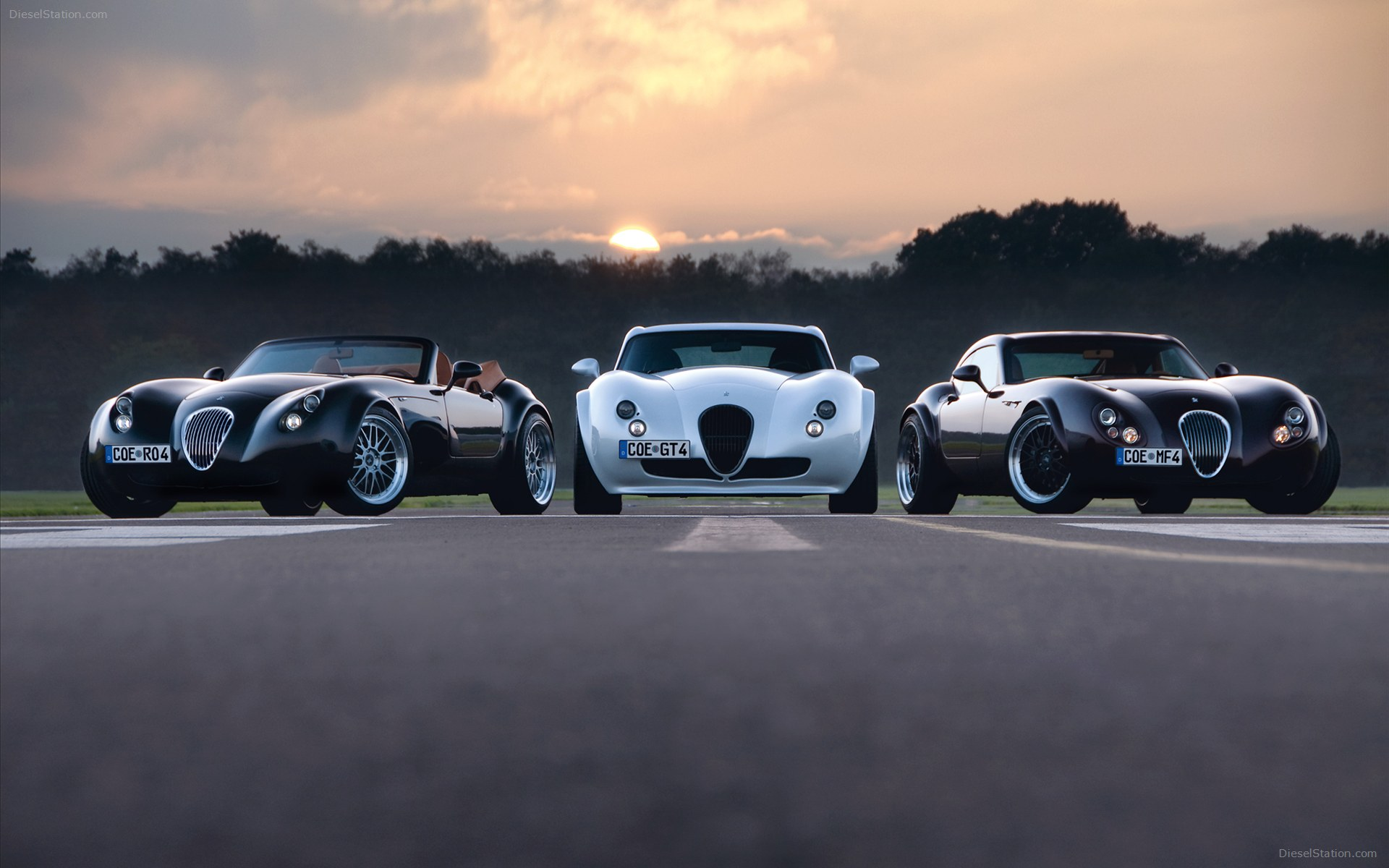 1920x1200 - Wiesmann GT MF4 Wallpapers 13