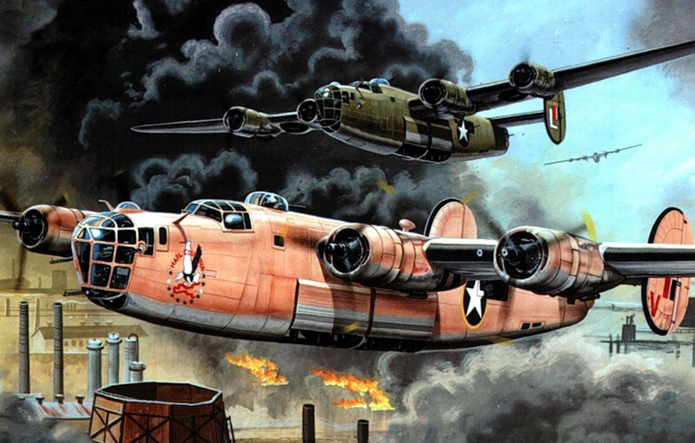 1412x900 - Consolidated B-24 Liberator Wallpapers 26