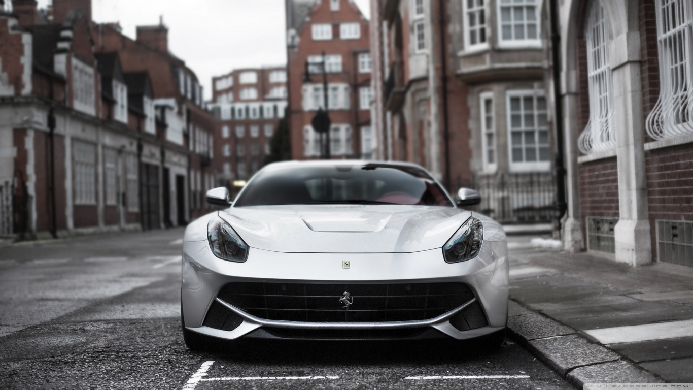 1366x768 - Ferrari FF Wallpapers 8