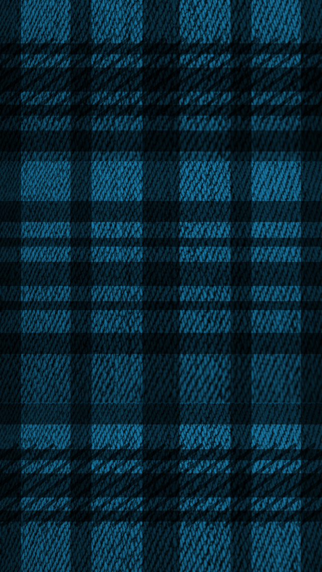640x1136 - Blue Plaid 31