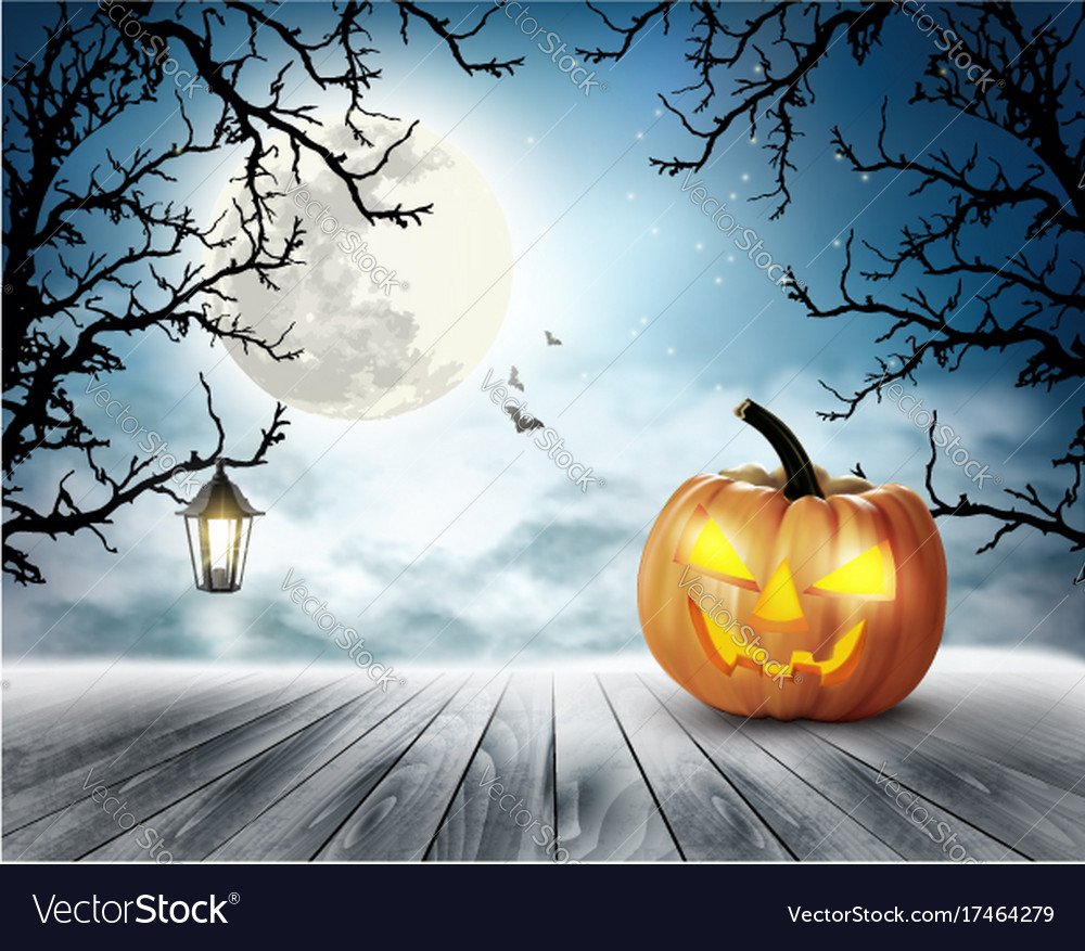 1000x877 - Scary Halloween Background 2