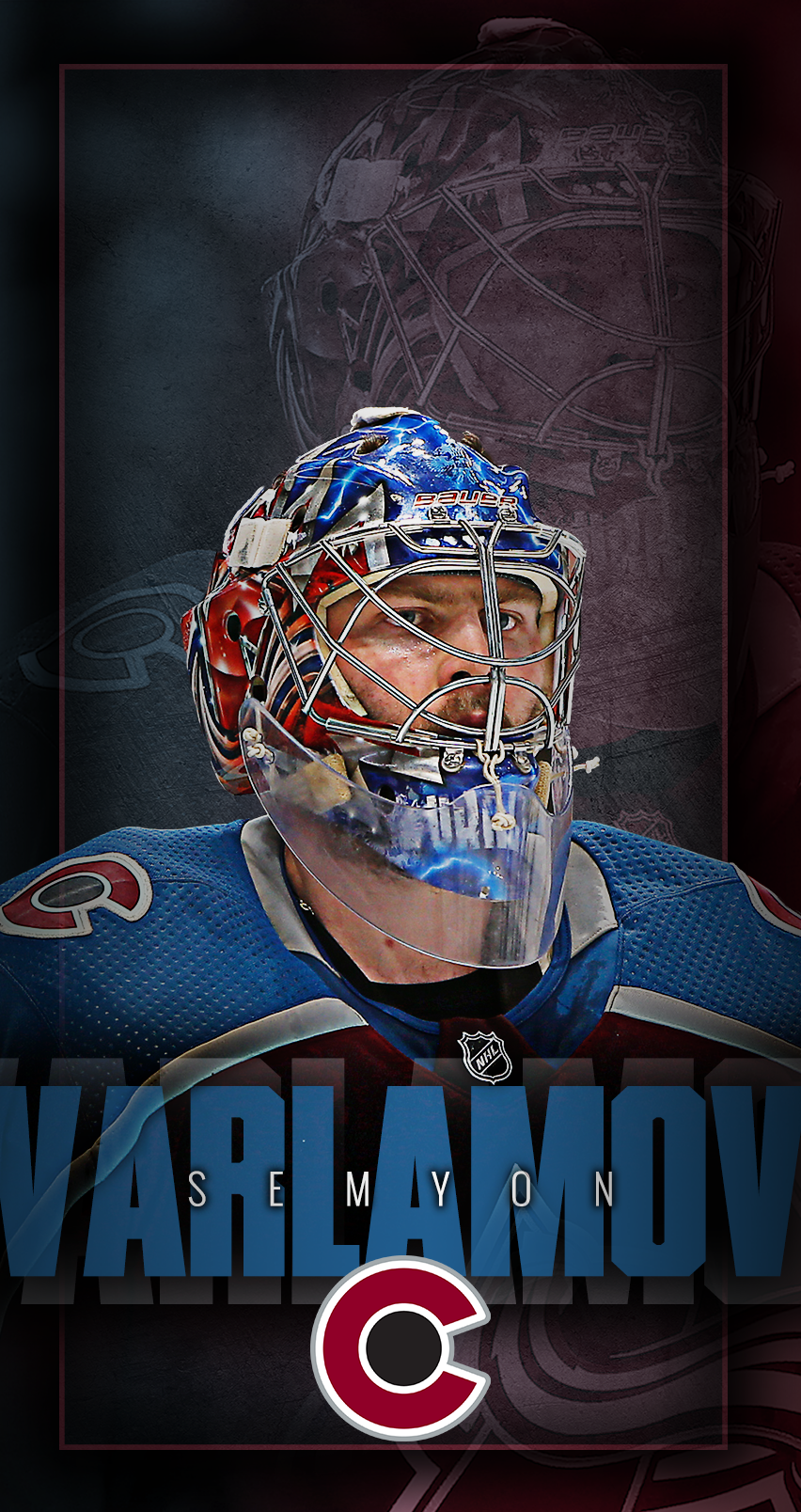 852x1608 - Colorado Avalanche Wallpapers 23