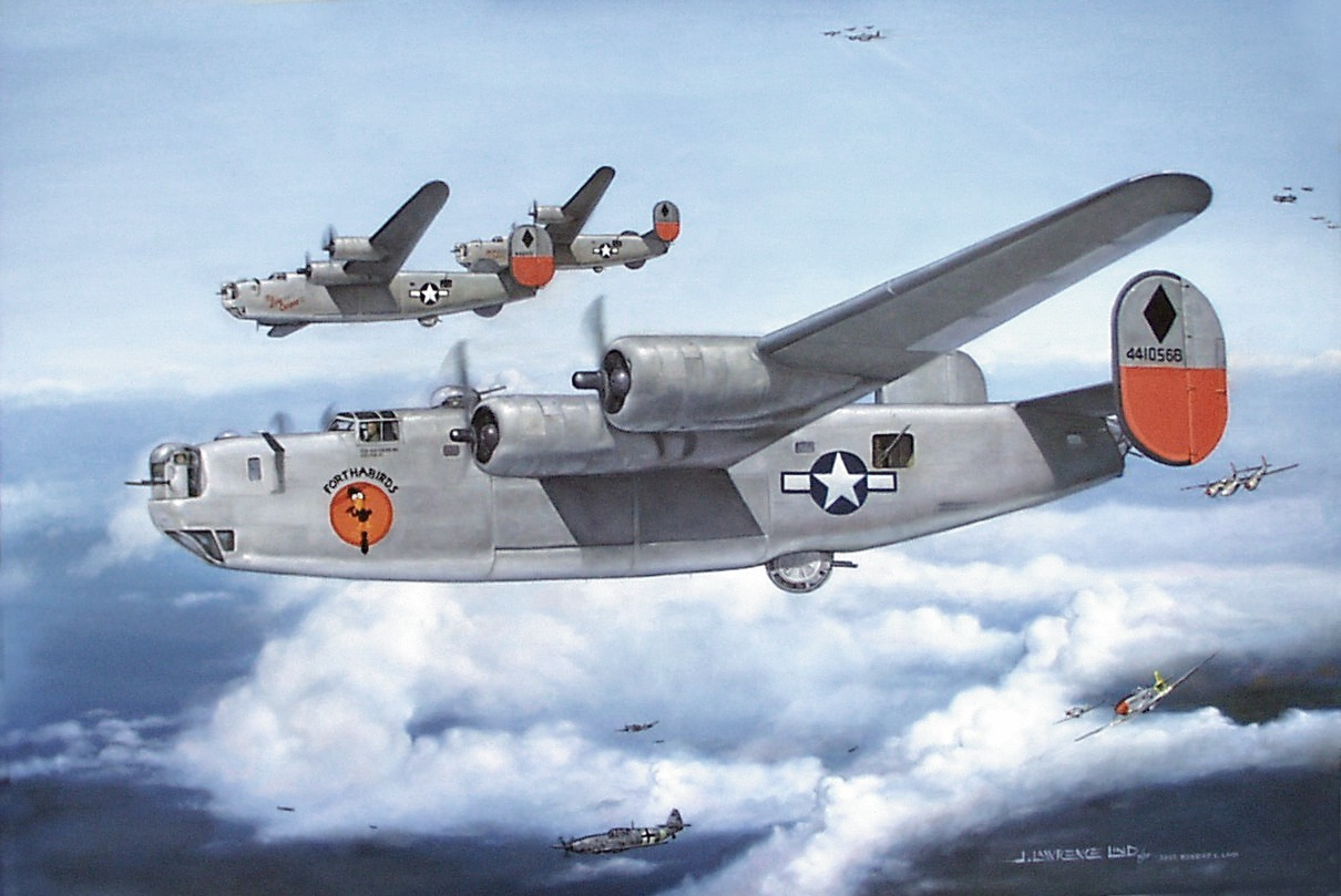 1210x809 - Consolidated B-24 Liberator Wallpapers 20