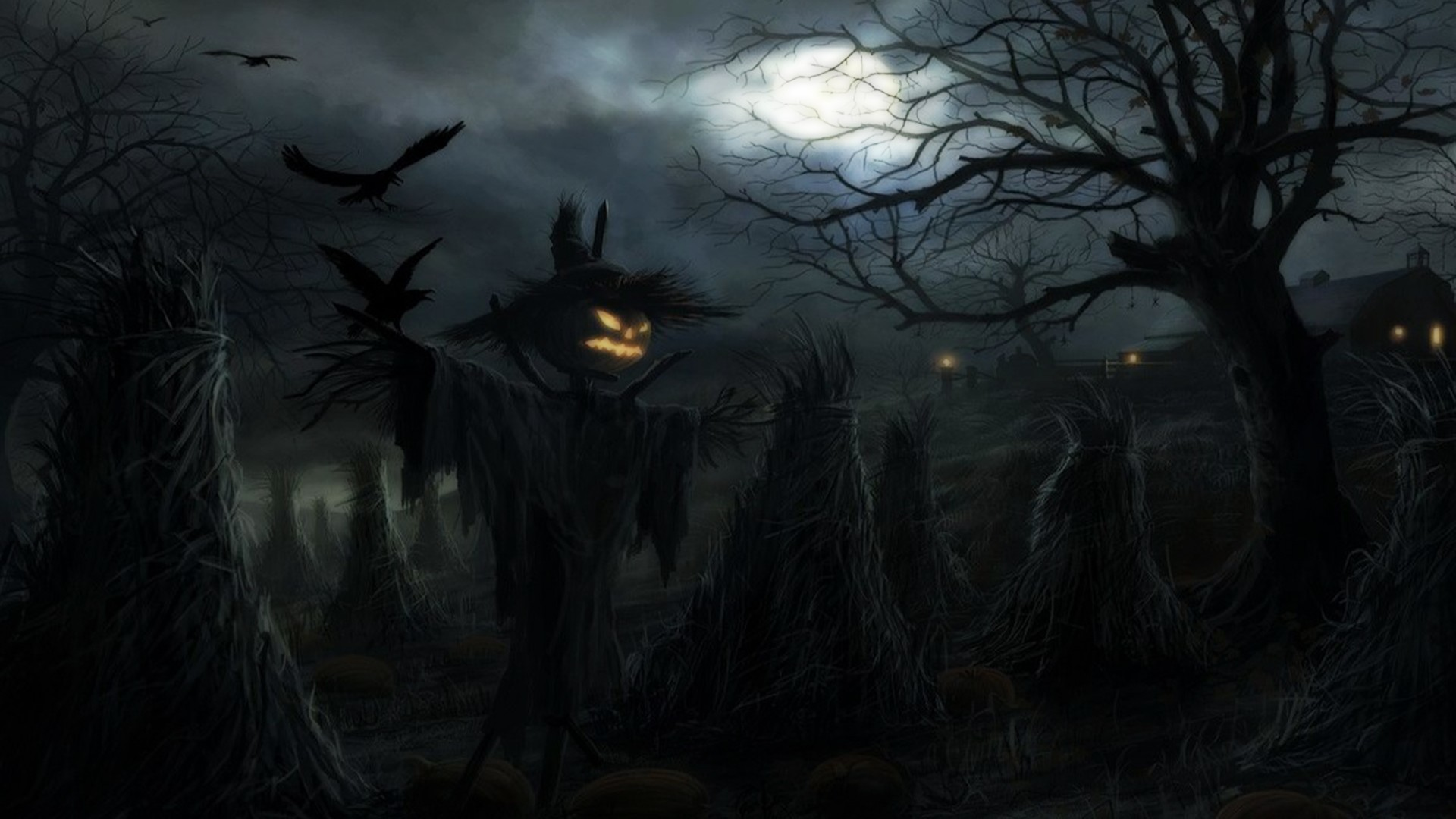 1920x1080 - Scary Halloween Background 47