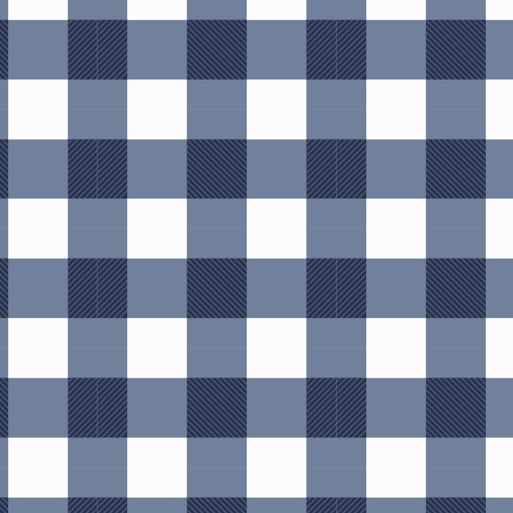 1000x1000 - Blue Plaid 9