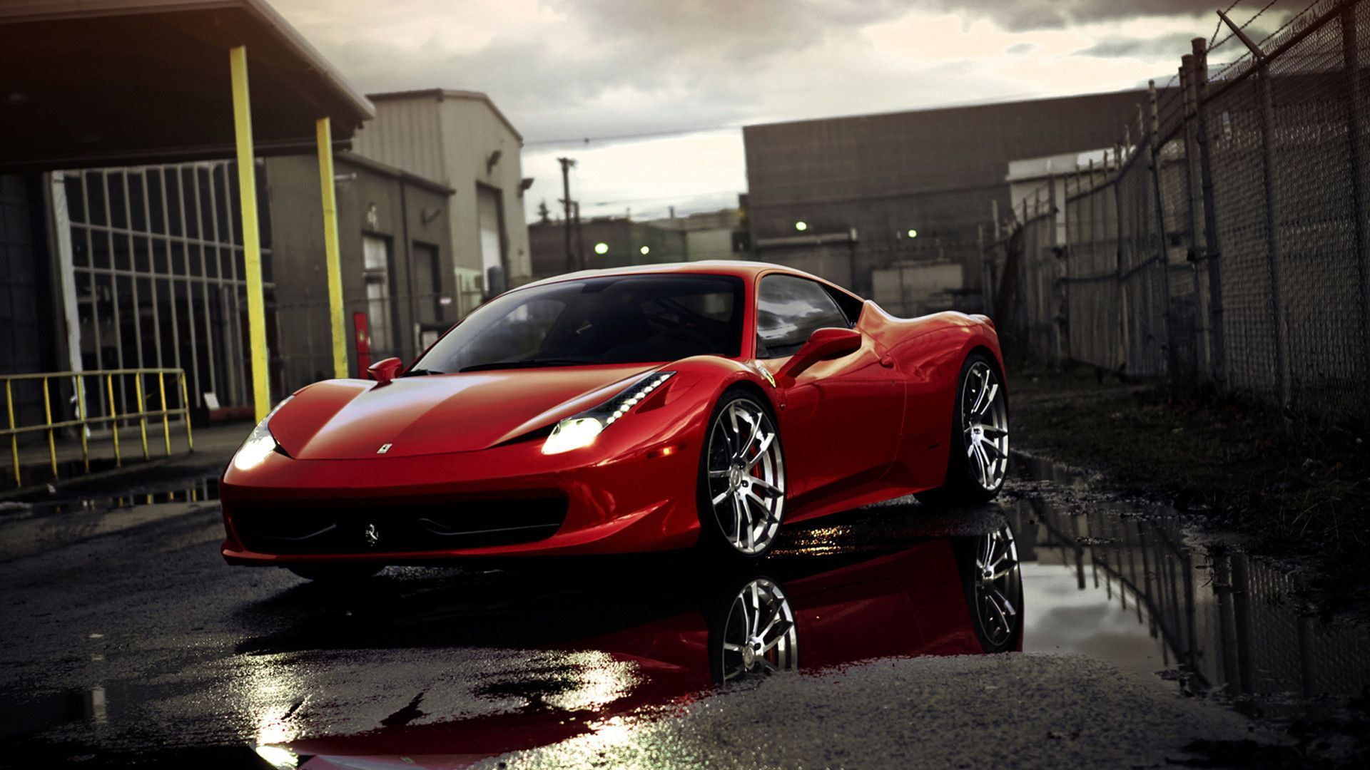 1920x1080 - Ferrari 458 Italia Wallpapers 12