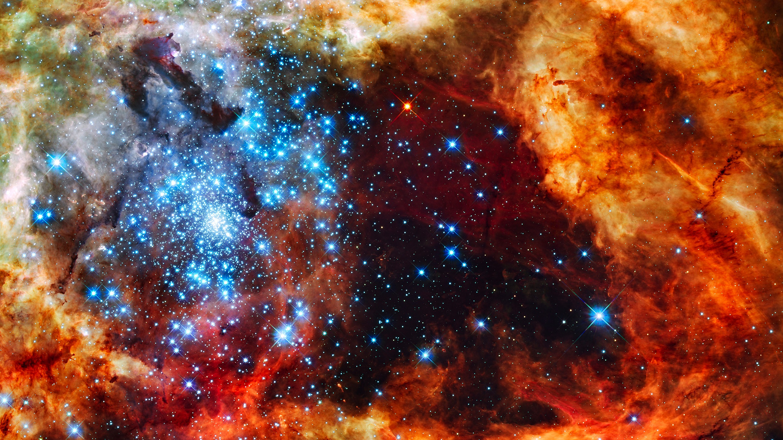 2560x1440 - Star Cluster Wallpapers 32