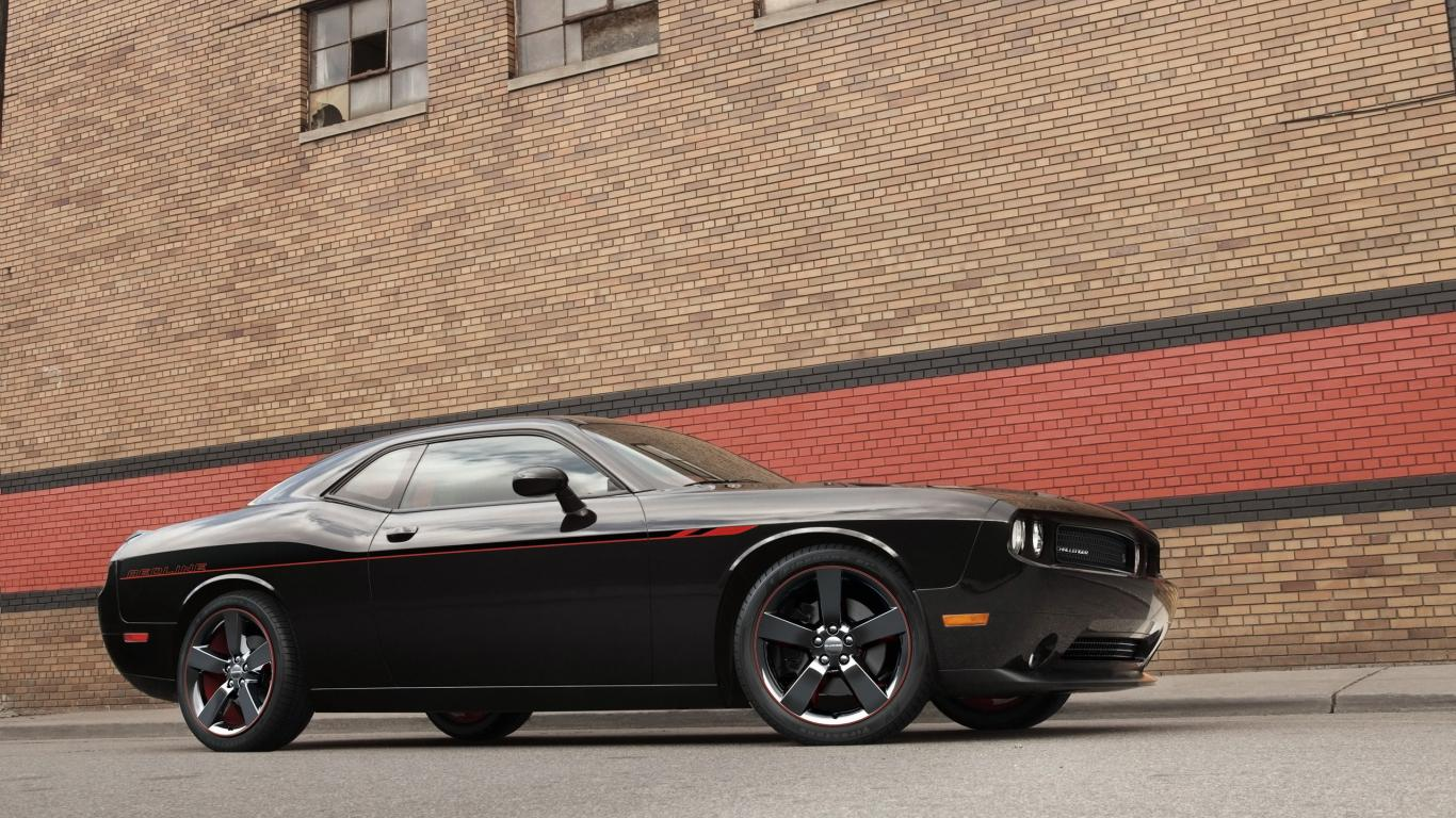 1366x768 - Dodge Challenger Rallye Wallpapers 38