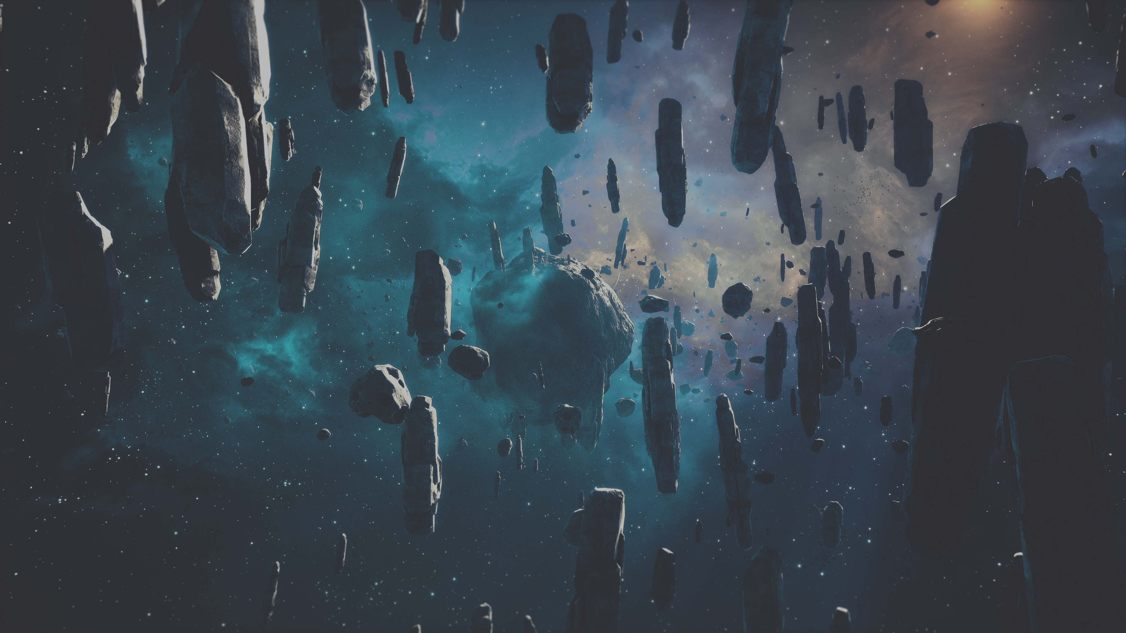 3840x2160 - Asteroid Wallpapers 20