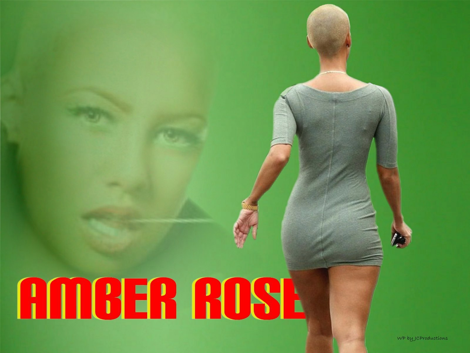 1600x1200 - Amber Rose Wallpapers 1