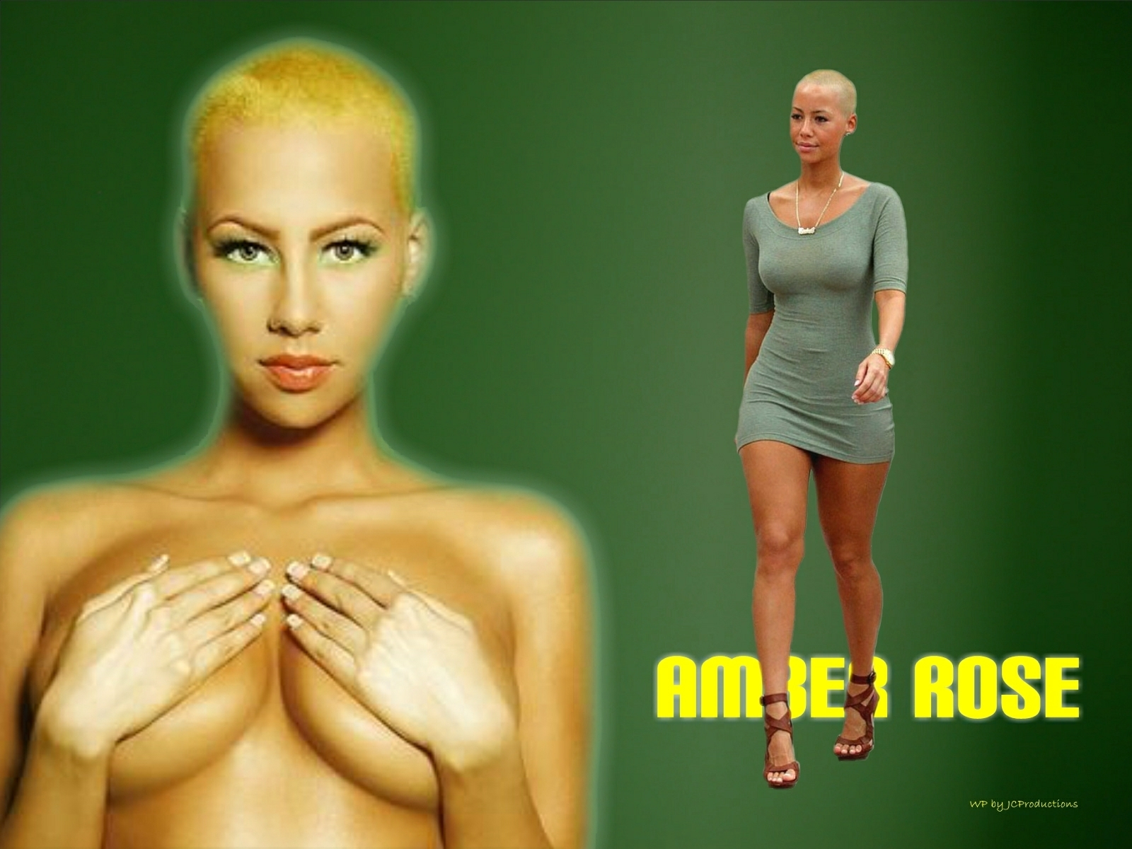 1600x1200 - Amber Rose Wallpapers 24