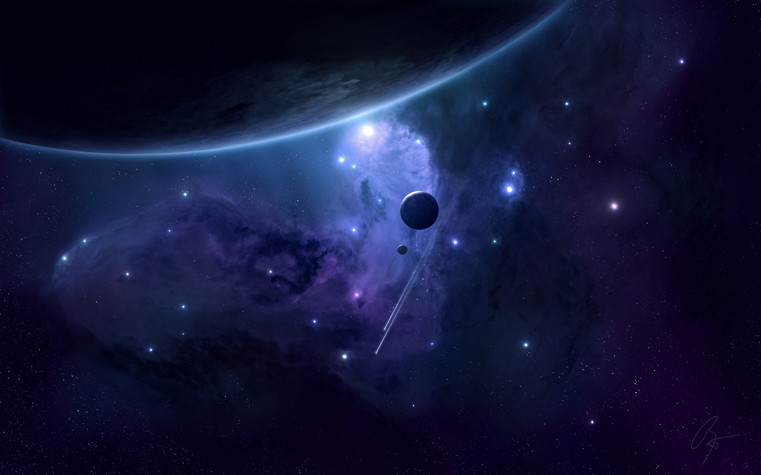 2560x1600 - Planets Wallpapers 9