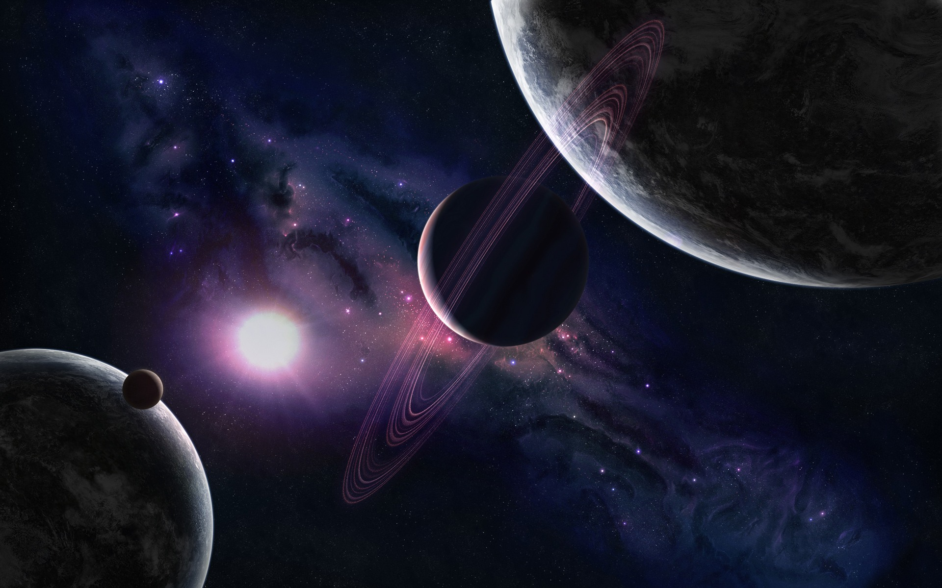 1920x1200 - Planetary Ring Wallpapers 15