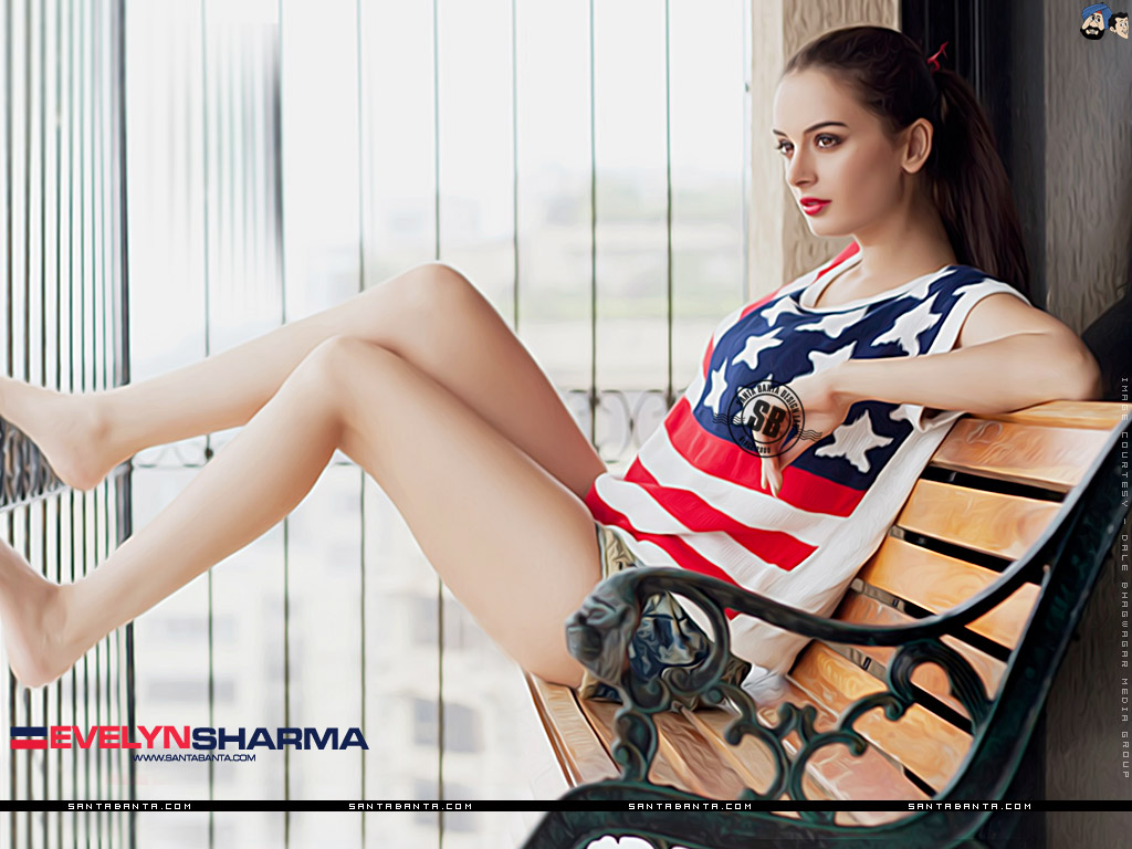 1024x768 - Evelyn Sharma Wallpapers 26
