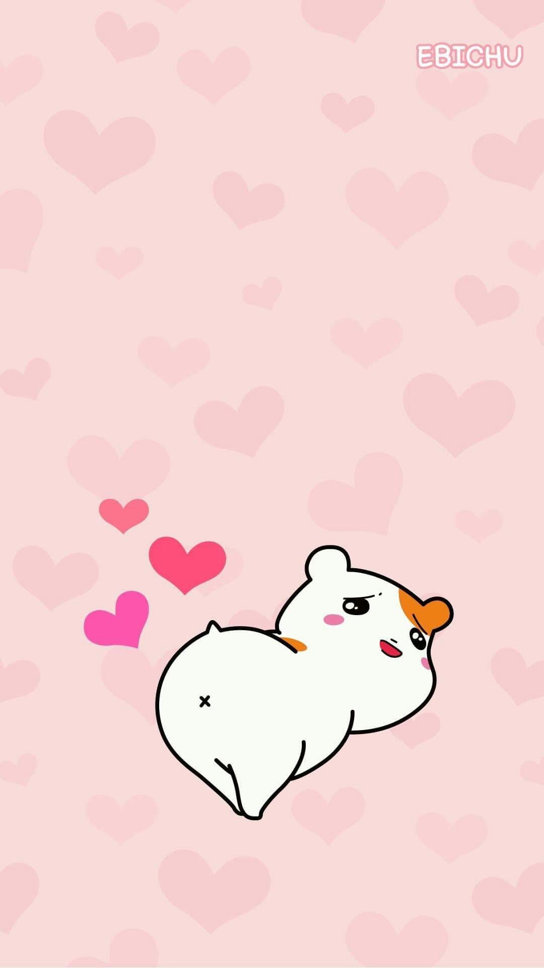 1080x1920 - Hamtaro Background 13