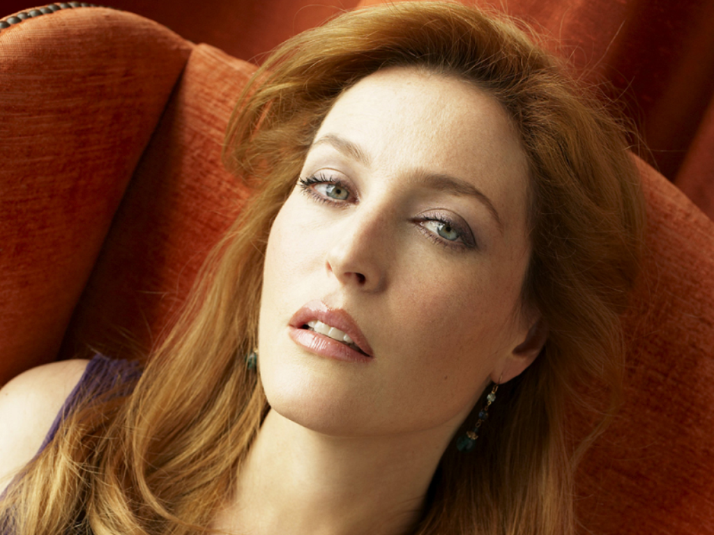1024x768 - Gillian Anderson Wallpapers 18