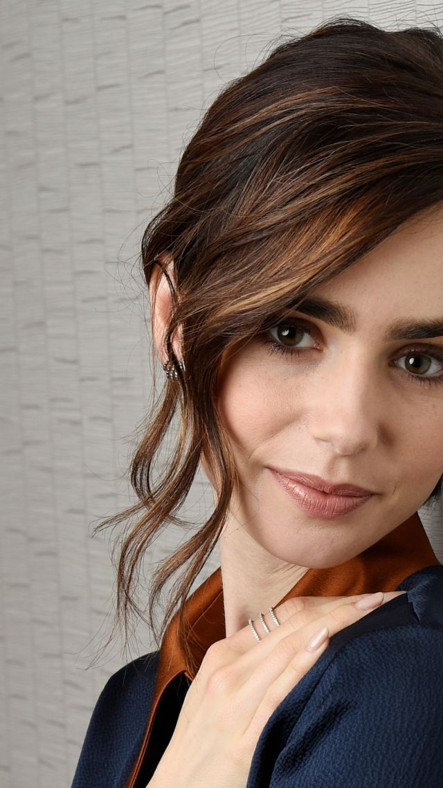 640x1138 - Lily Collins Wallpapers 24