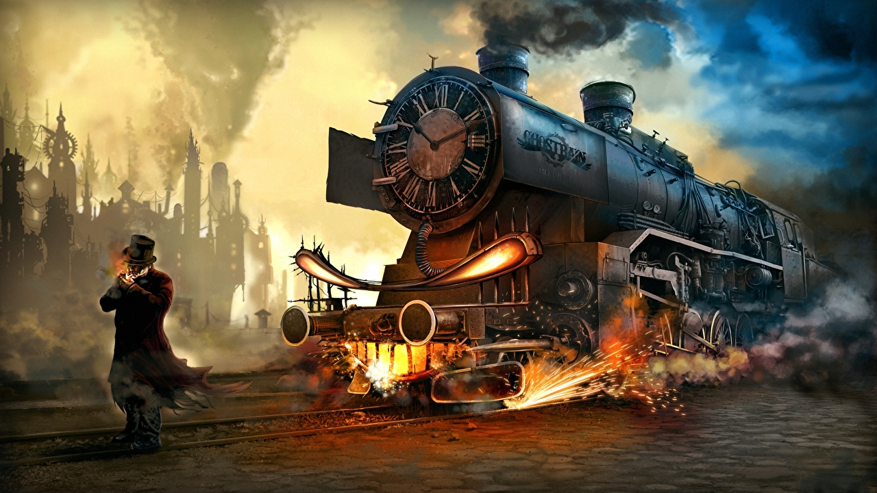 1280x720 - Steampunk Wallpapers 3