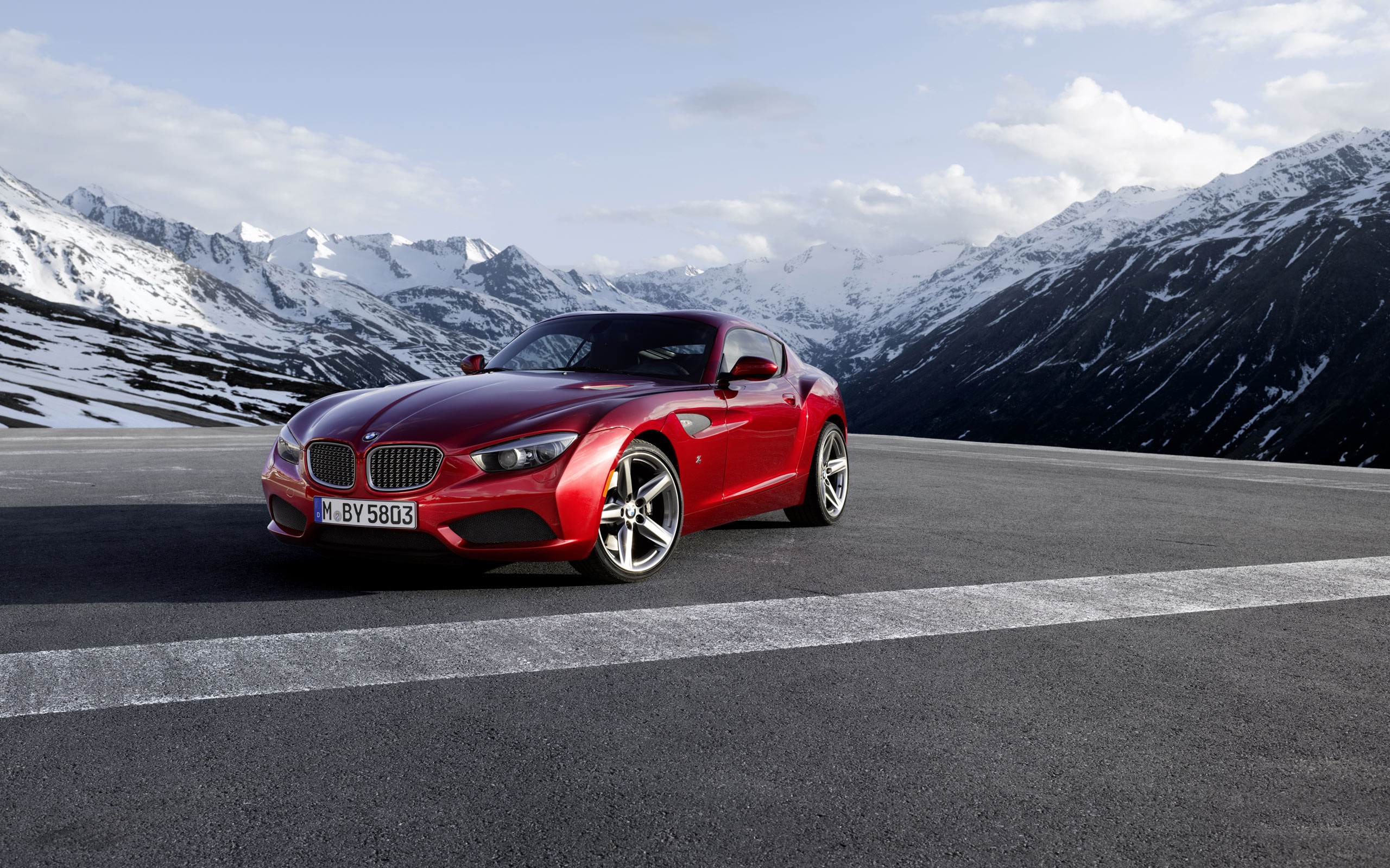 2560x1600 - BMW Zagato Coupe Wallpapers 14