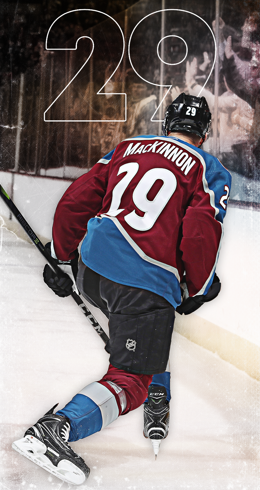 852x1608 - Colorado Avalanche Wallpapers 1