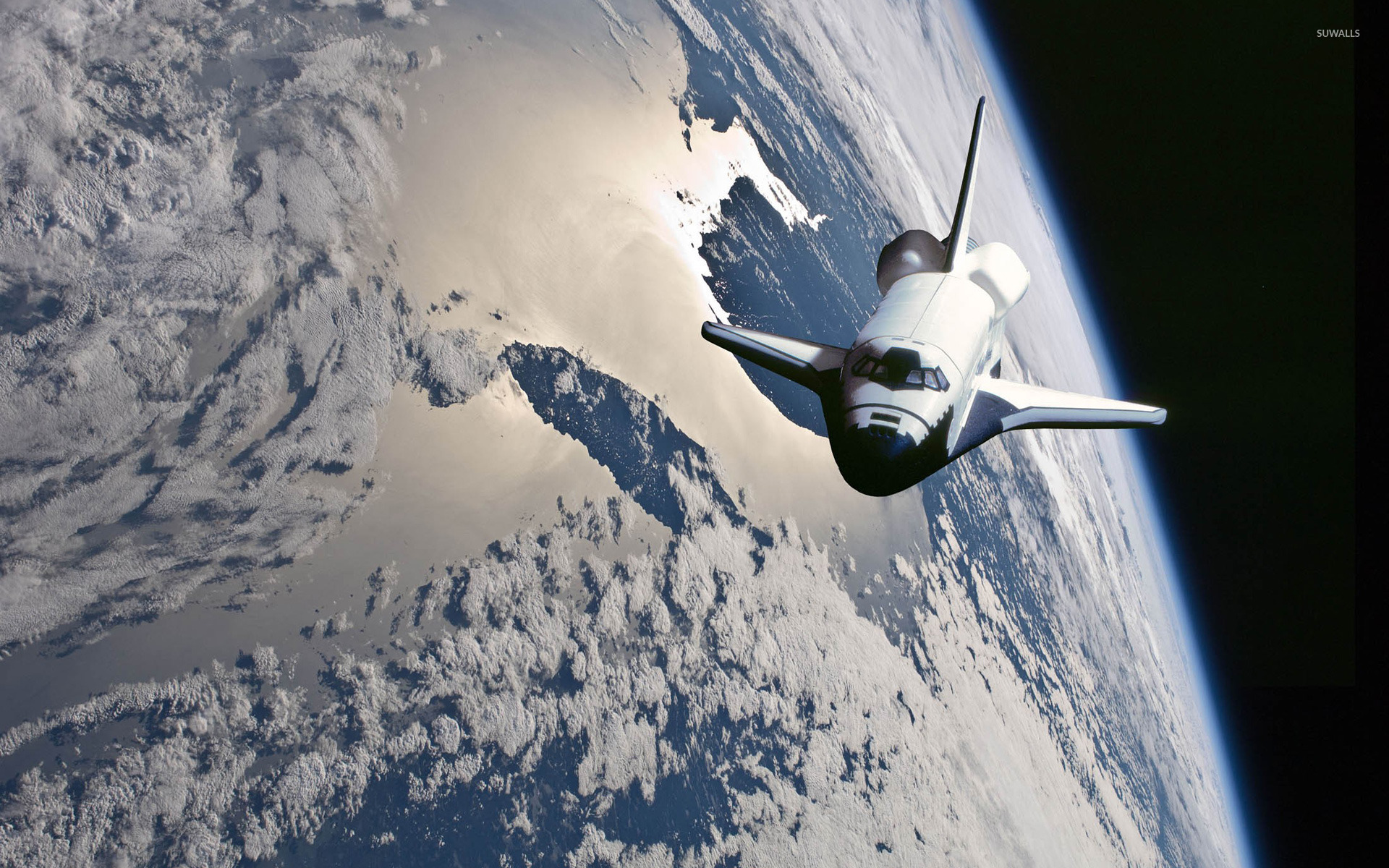 1920x1200 - Space Shuttle atlantis Wallpapers 2