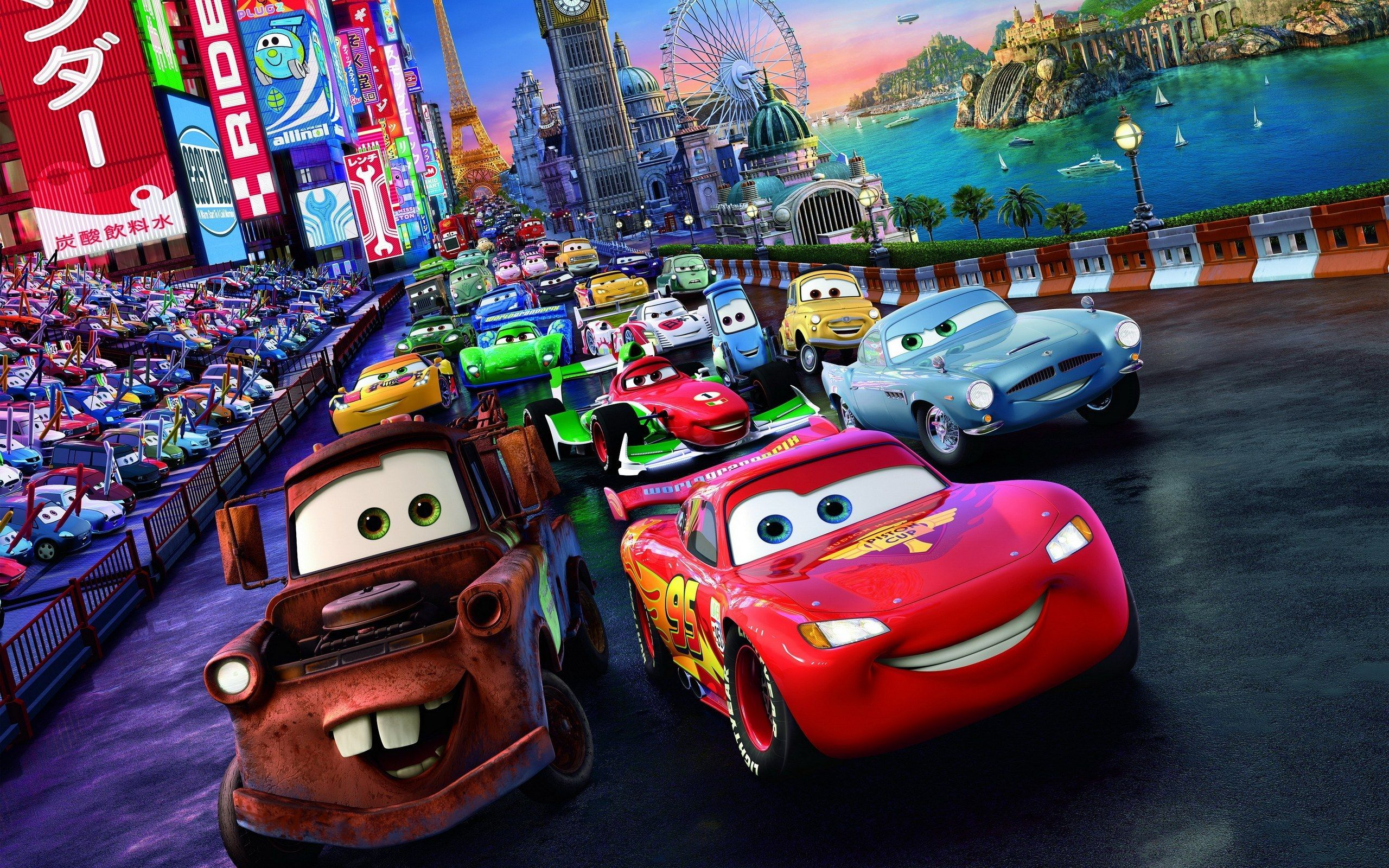 2560x1600 - Wallpaper Cars Cartoon 13