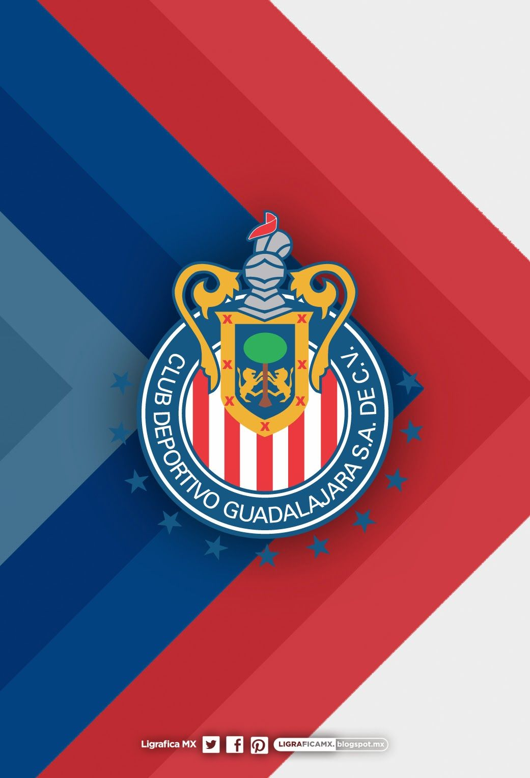 1041x1526 - C.D. Guadalajara Wallpapers 2