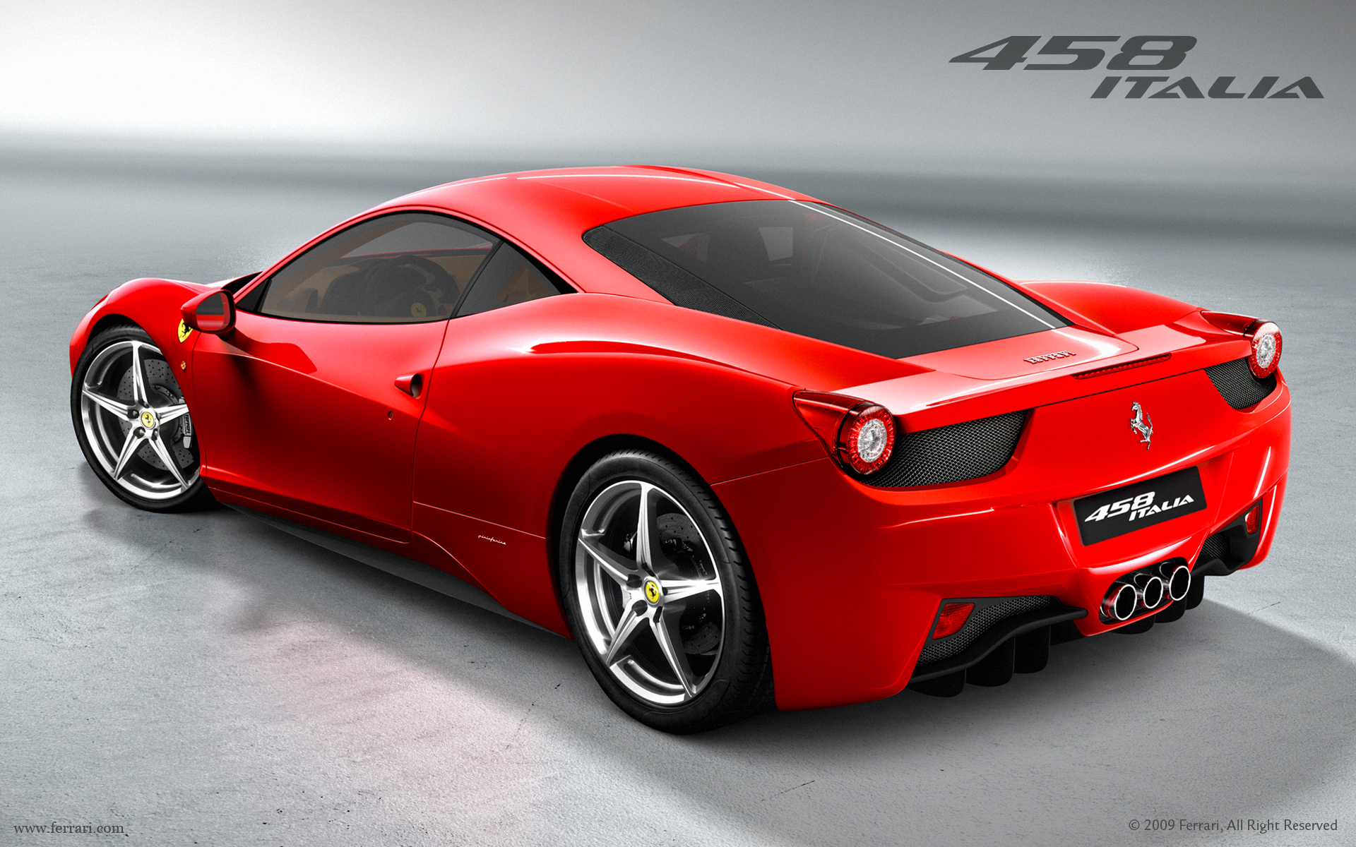 1920x1200 - Ferrari 458 Italia Wallpapers 28