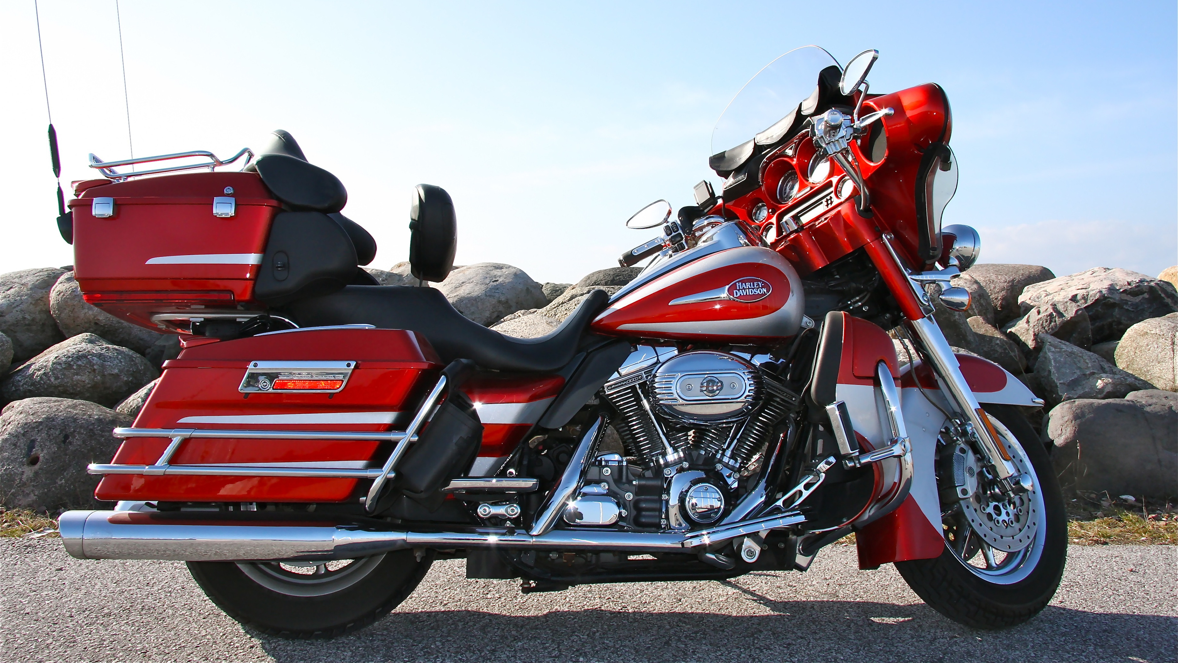 3840x2160 - Harley-Davidson Electra Glide Ultra Classic Wallpapers 11