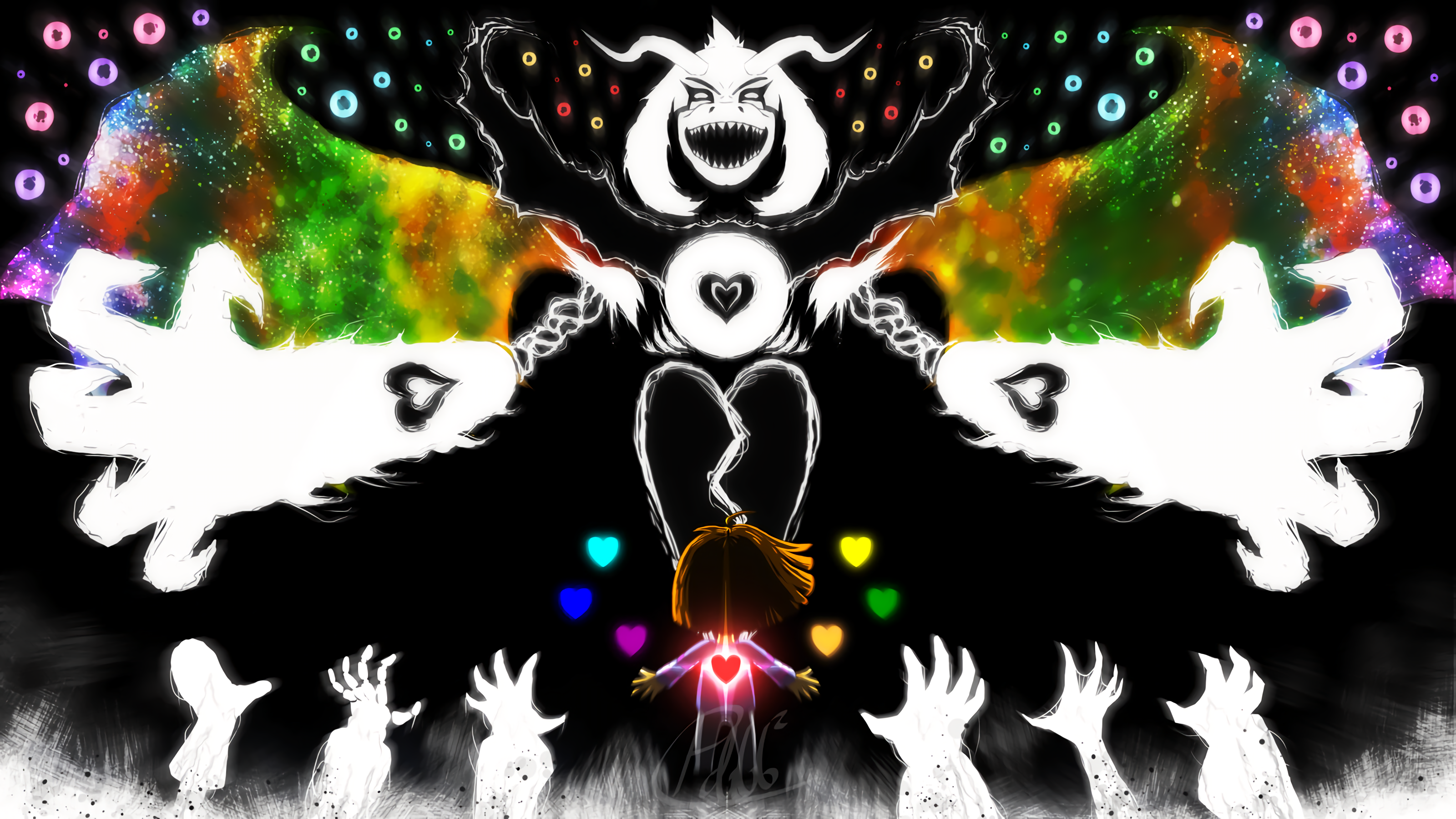 3200x1800 - Undertale Wallpaper 1920x1080 13